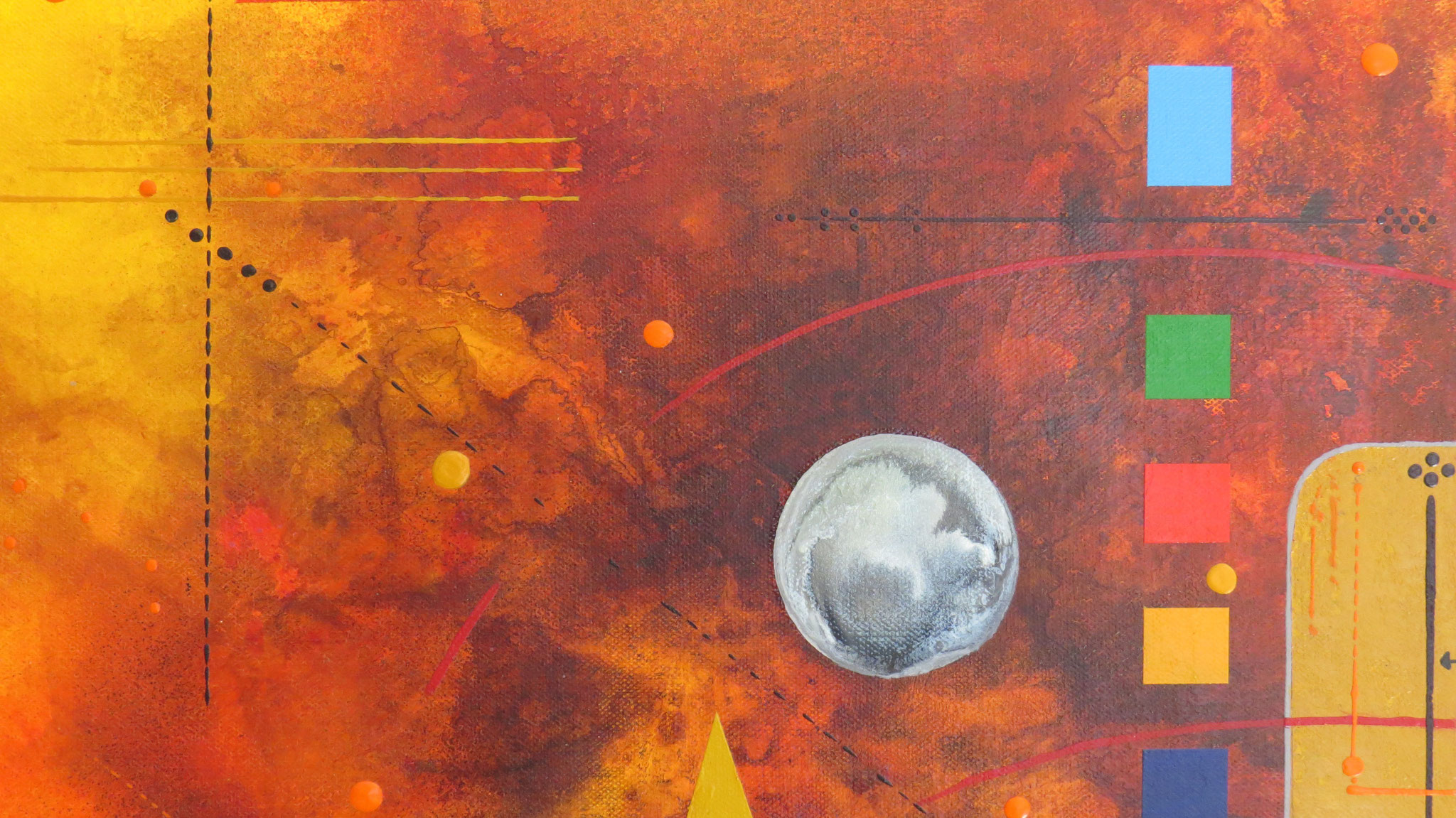 delta - zoom1 - DALUZ GALEGO - peinture abstraite