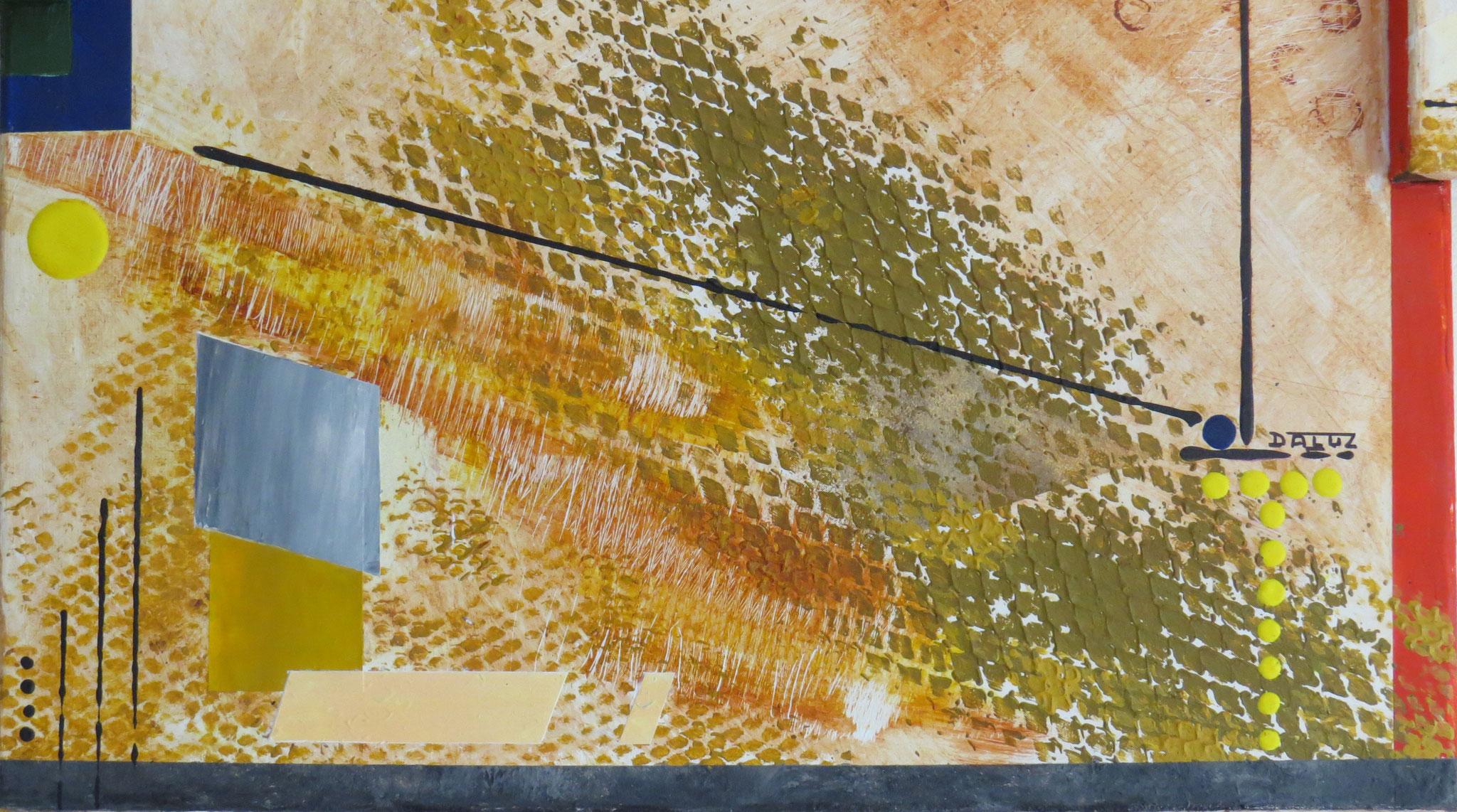 syncrétisme. vue de zoom1 - daluz galego tableau abstrait abstraction