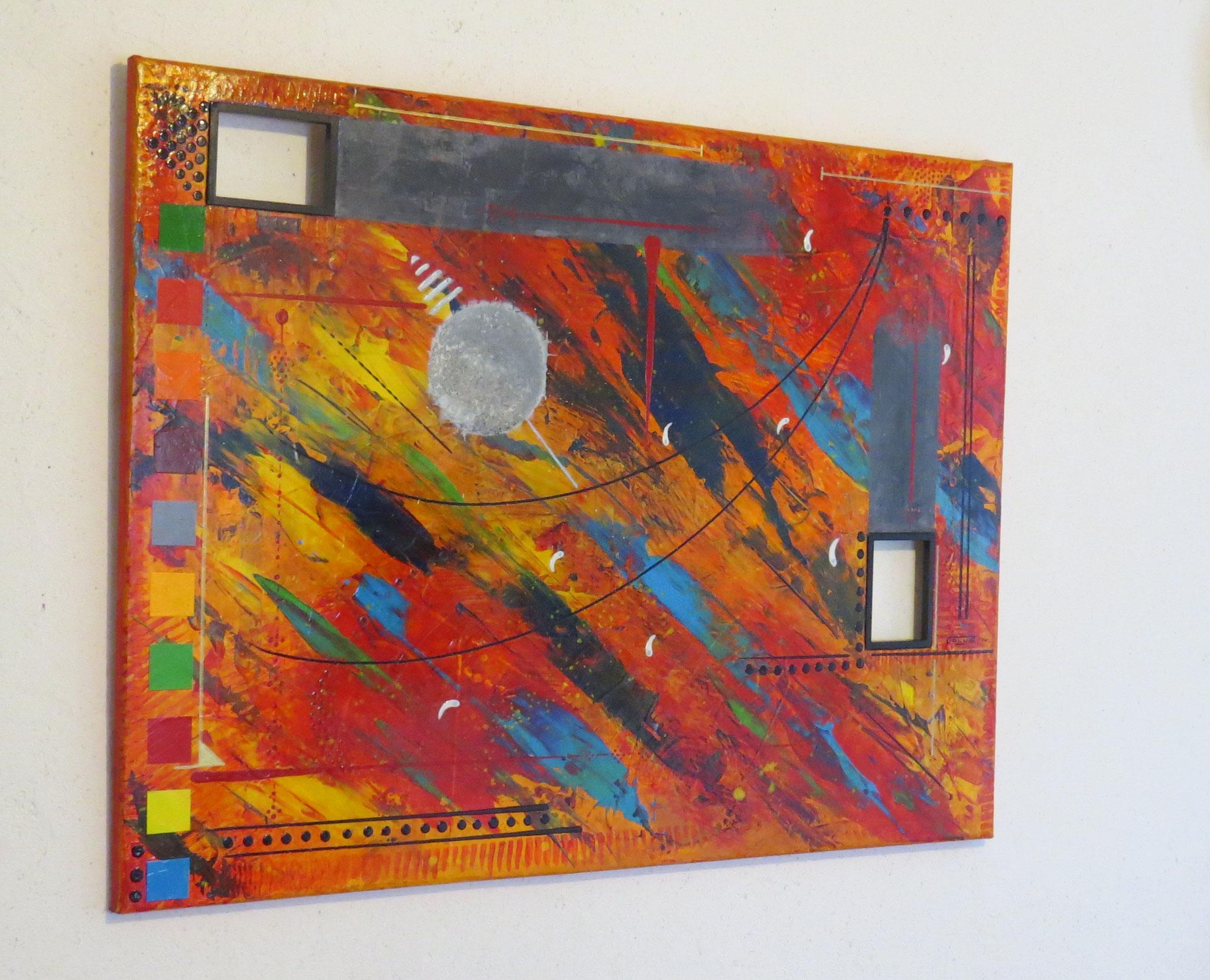 daluz galego peinture abstraite abstrait abstraction artiste peintre