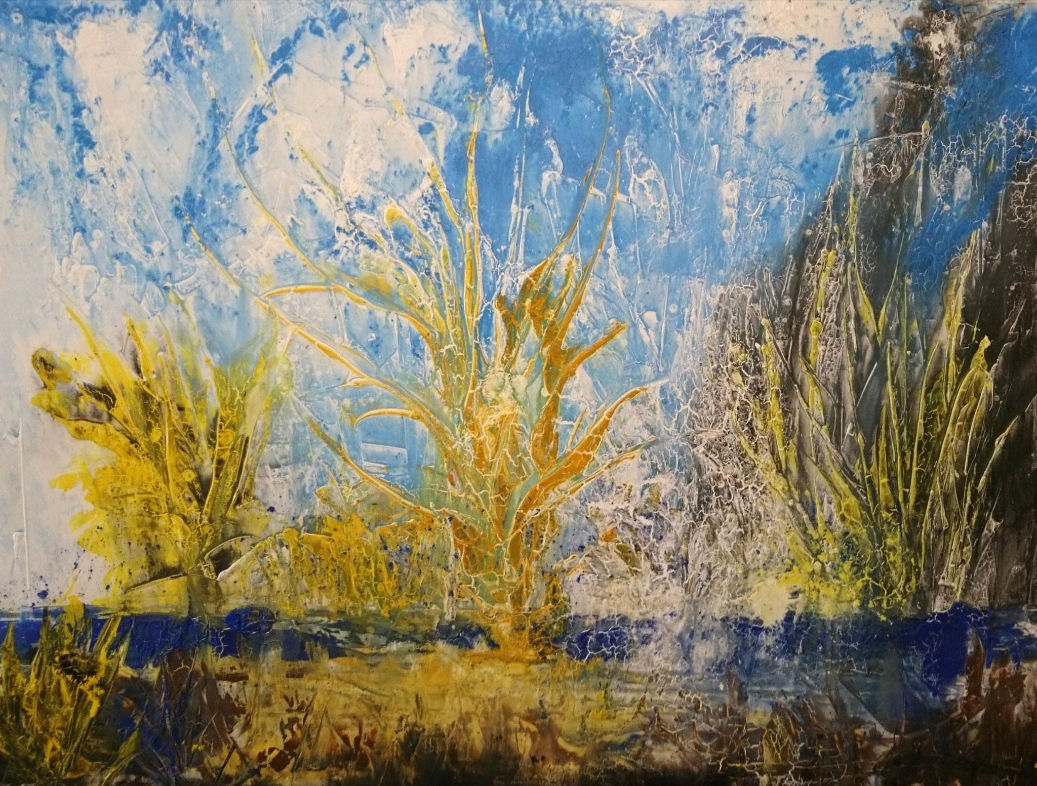 """Landschaft "" Acryl auf Leinwand 120x160cm"