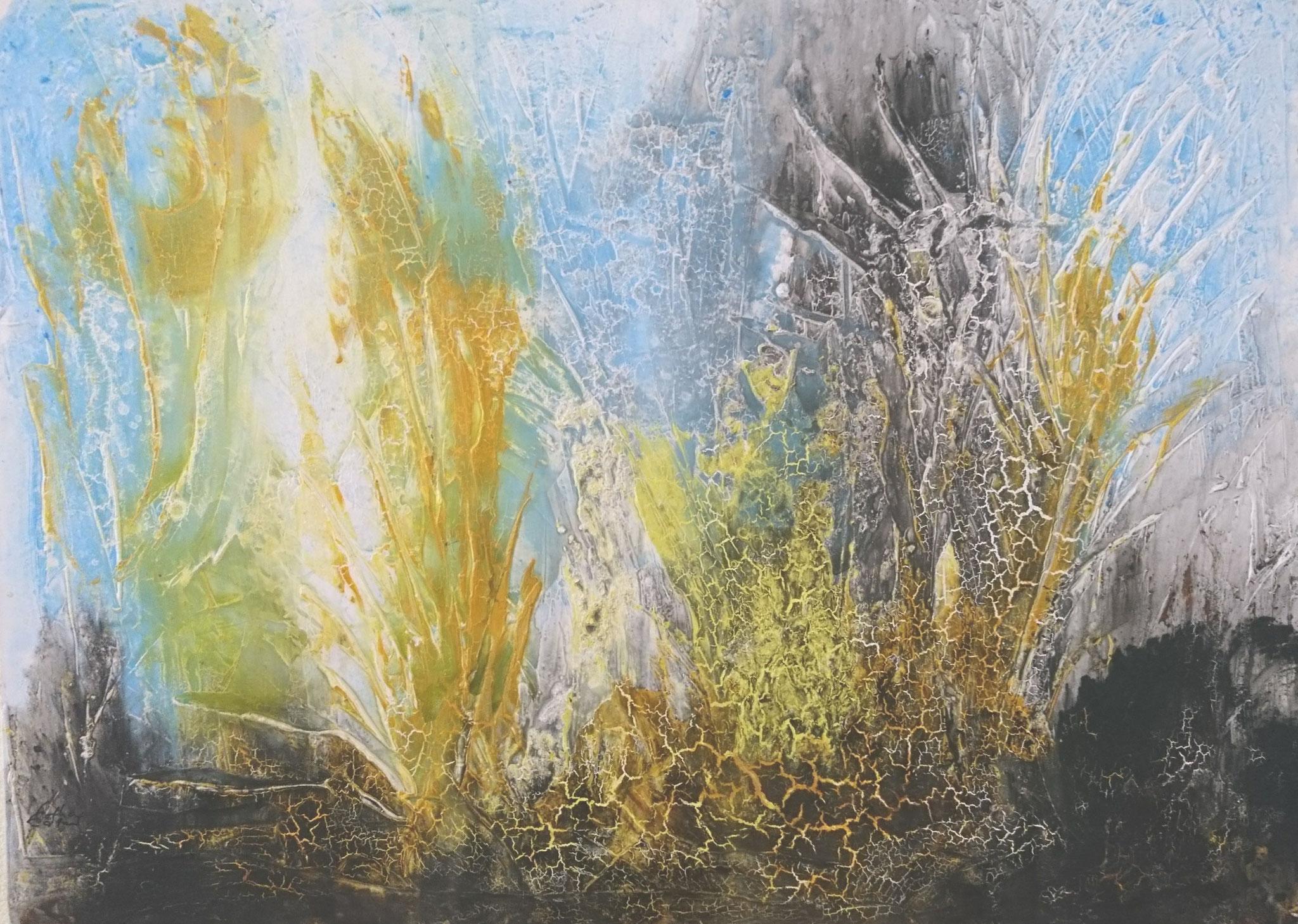 """Landschaft"" Acryl auf Leinwand 120x160cm"