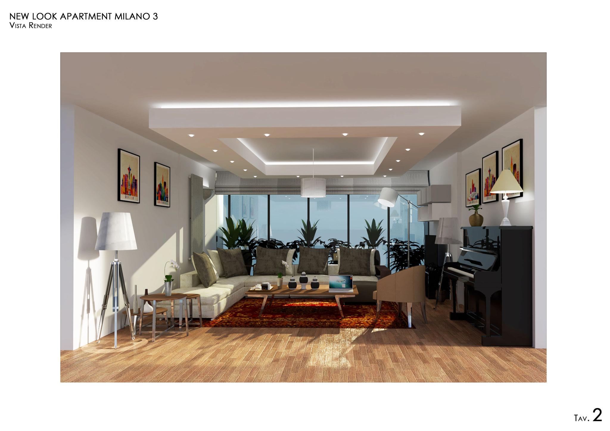 Living Room - © F. Perissi