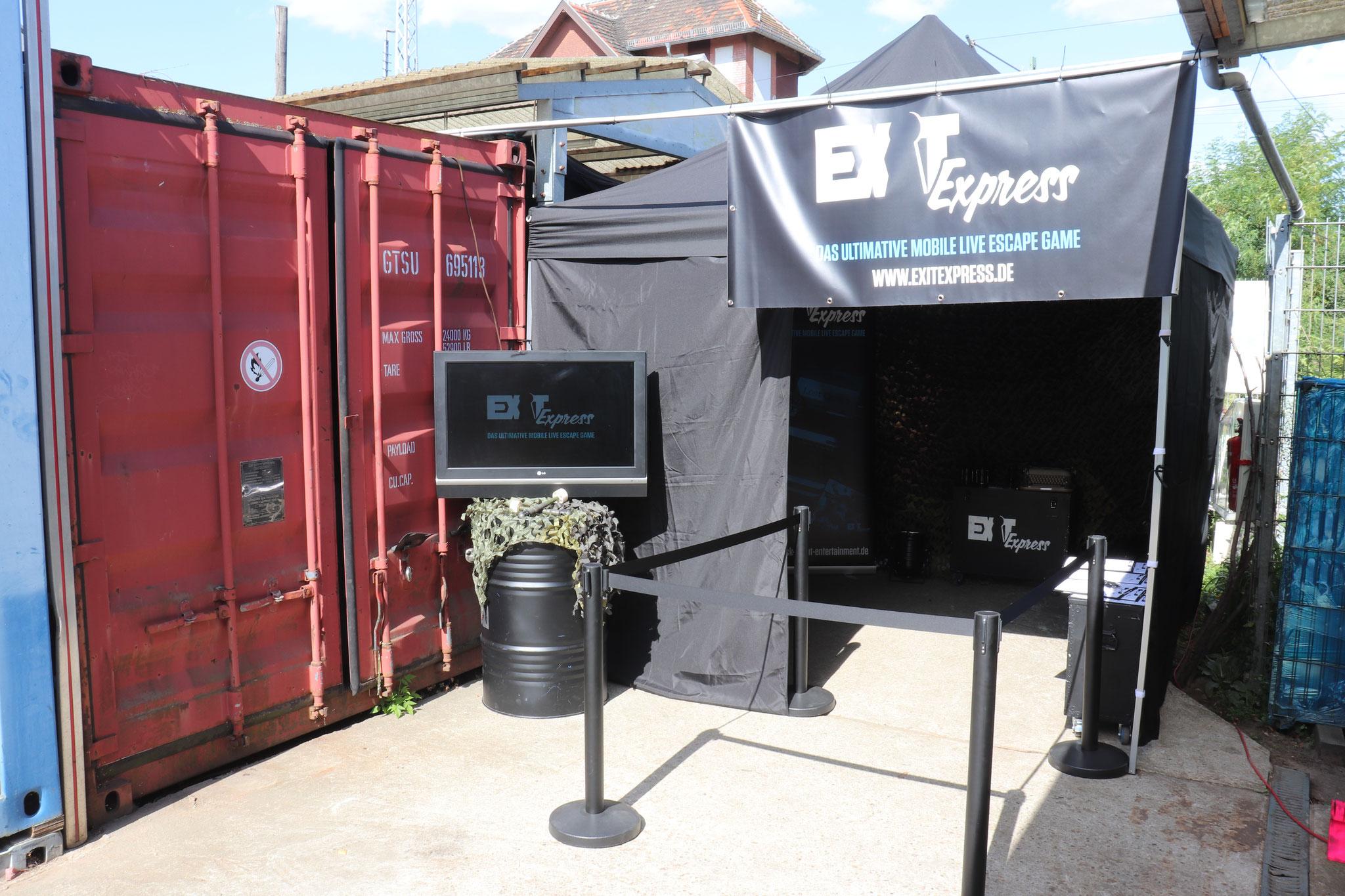 Mobiler Escape Room bei Firmenevent