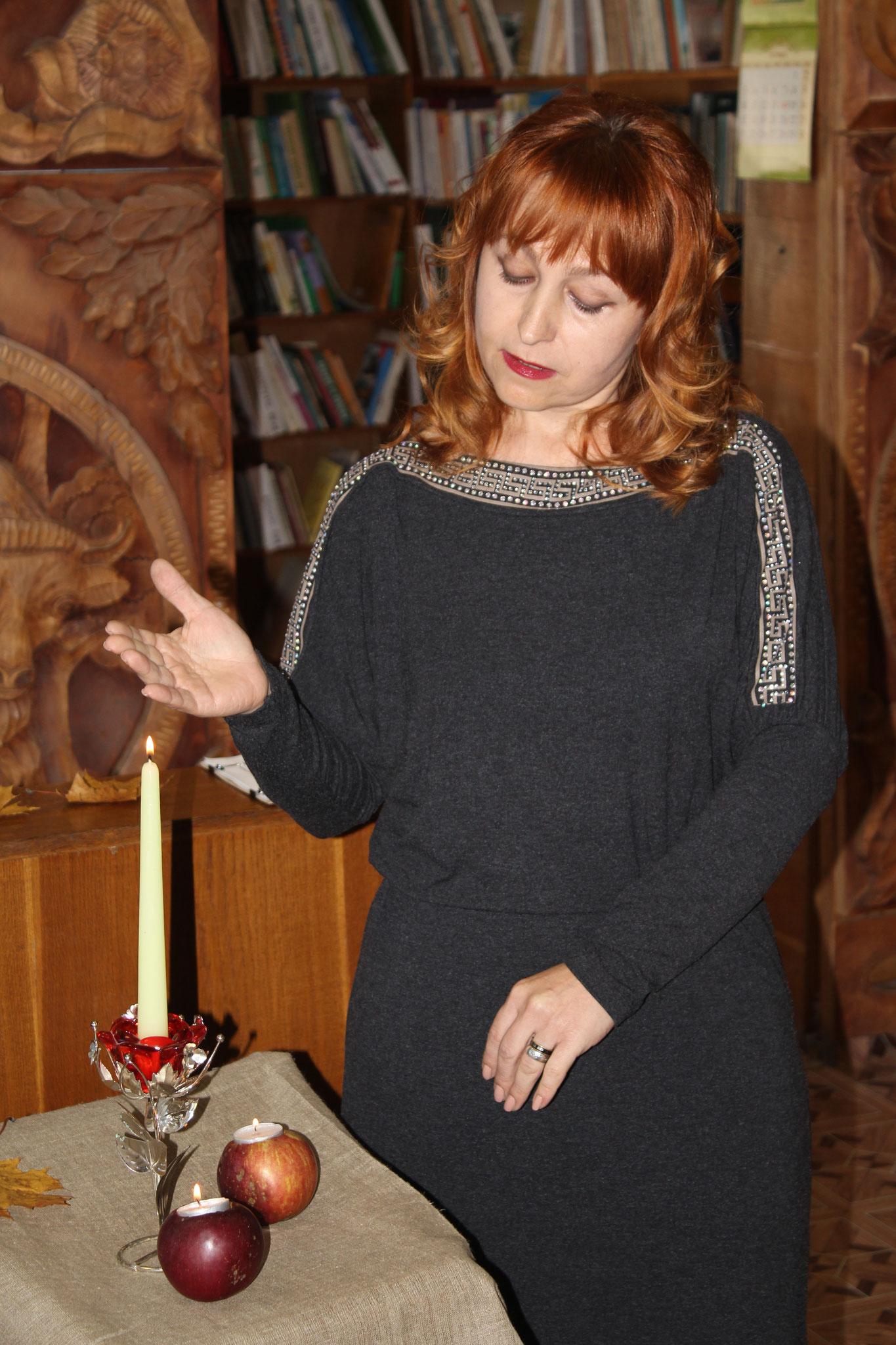 Вядучая Людміла Казіцкая
