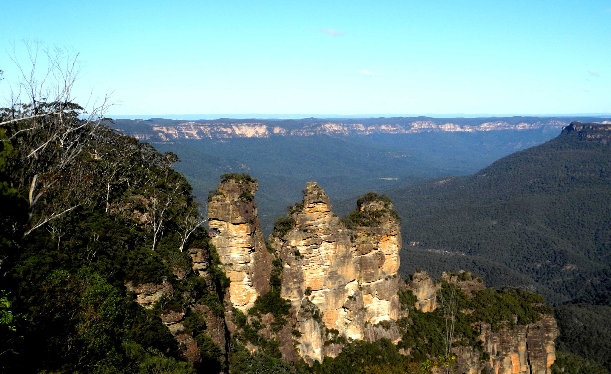 Der berühmteste Blick in den Blue Mountains - The Three Sisters