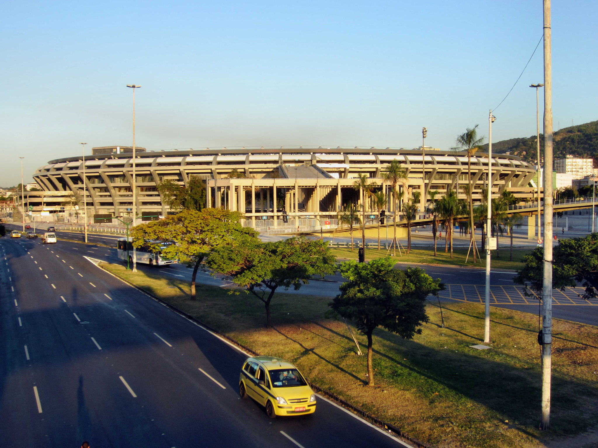 Das weltberühmte Maracanastadion