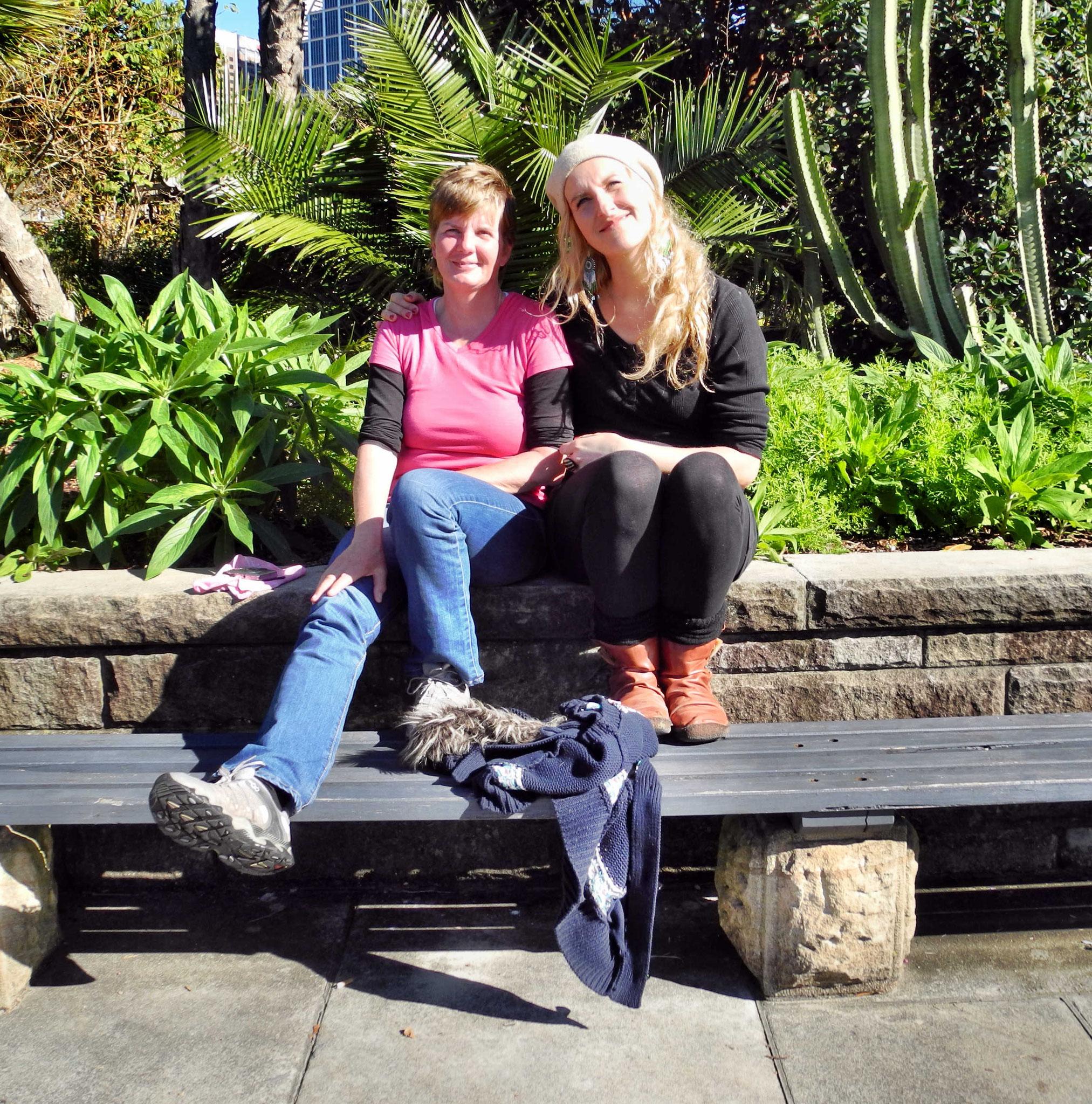 Mit Anja Freund aus Gera