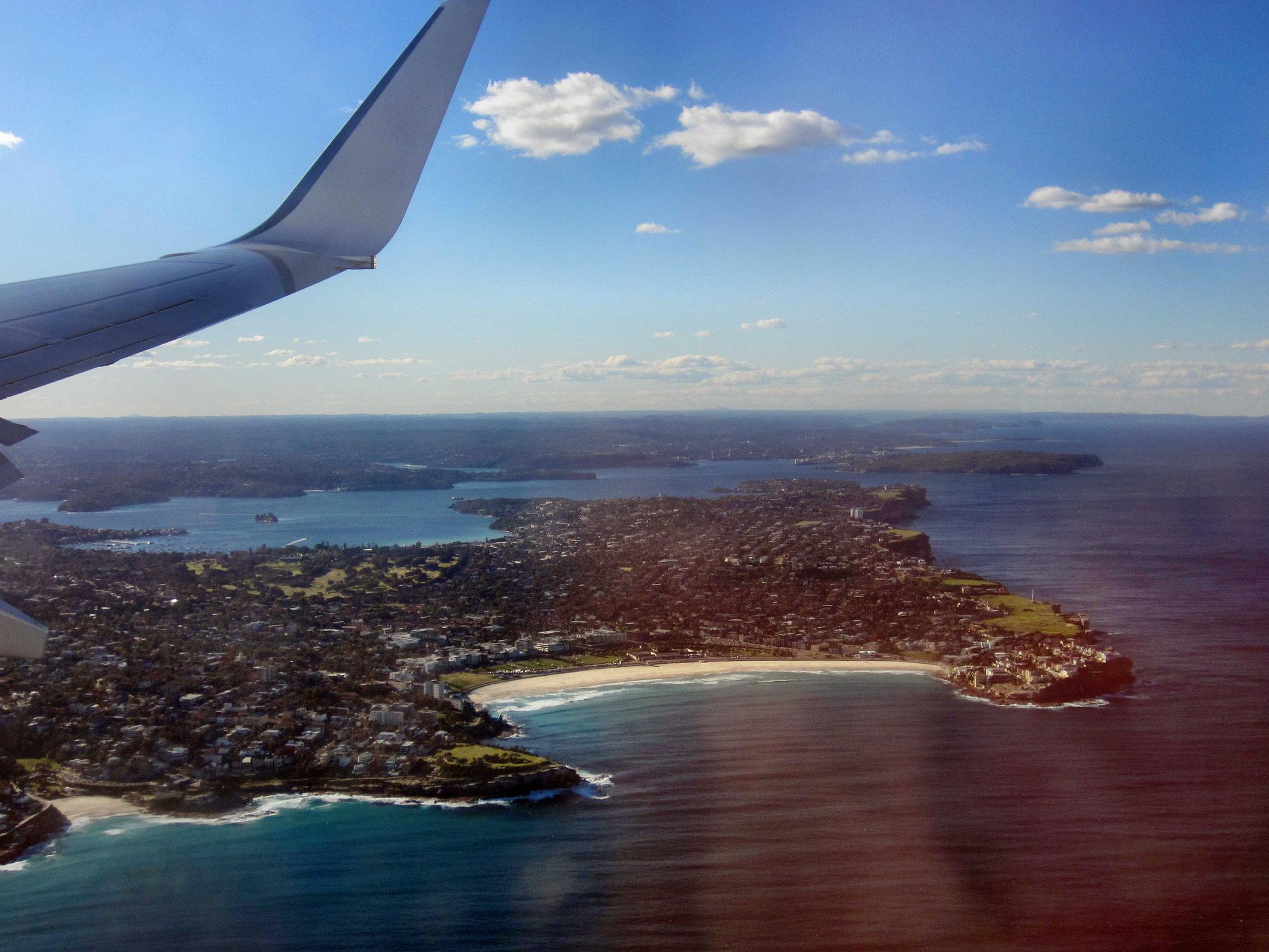 Ein letzter Blick auf Sydney