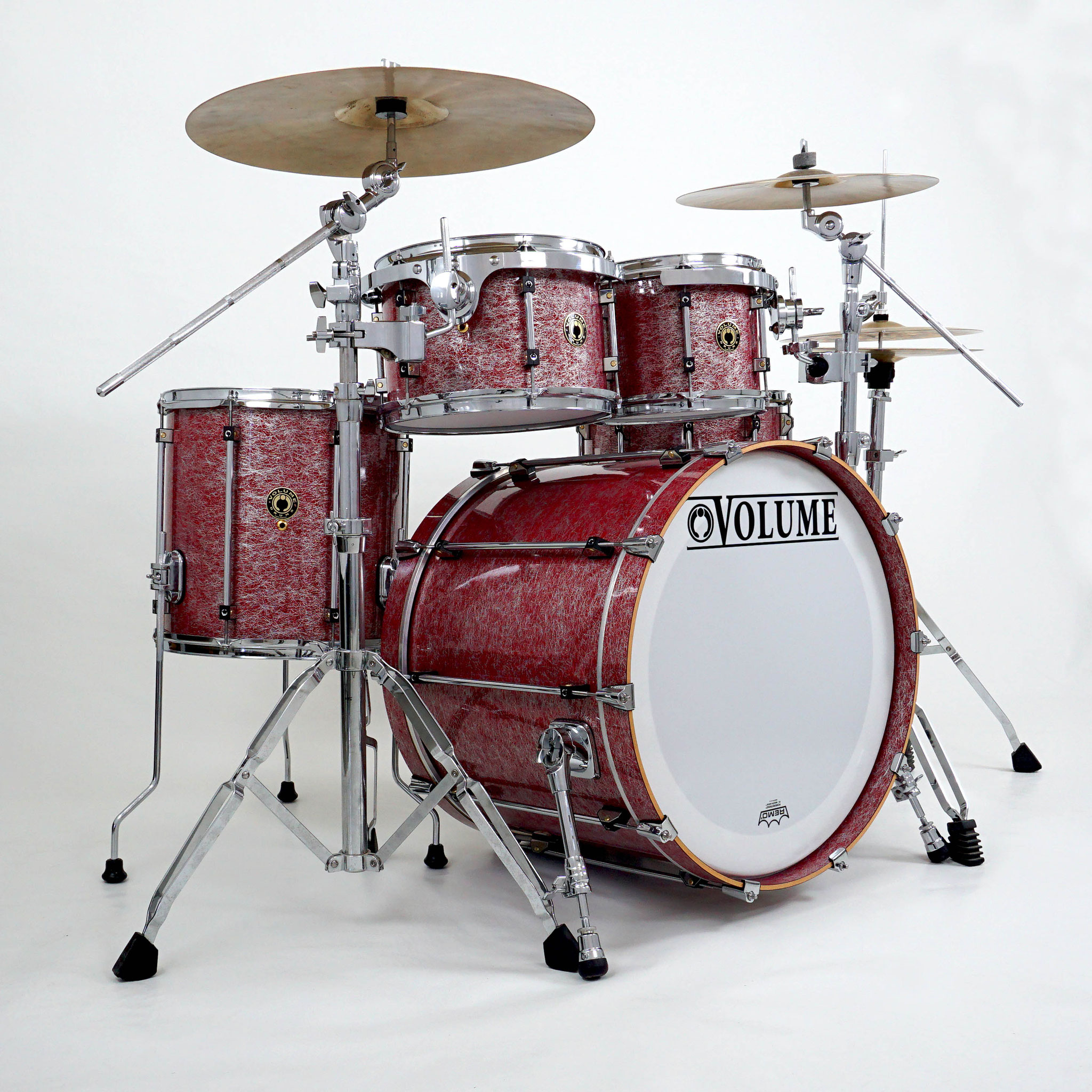 Wood: - VOLUMEDRUMS