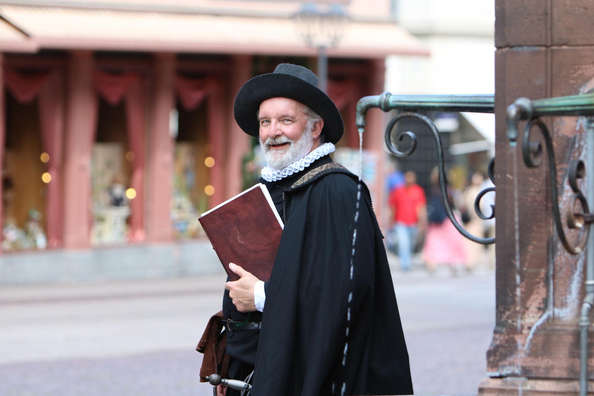 Luther in Heidelberg, Stadtführung