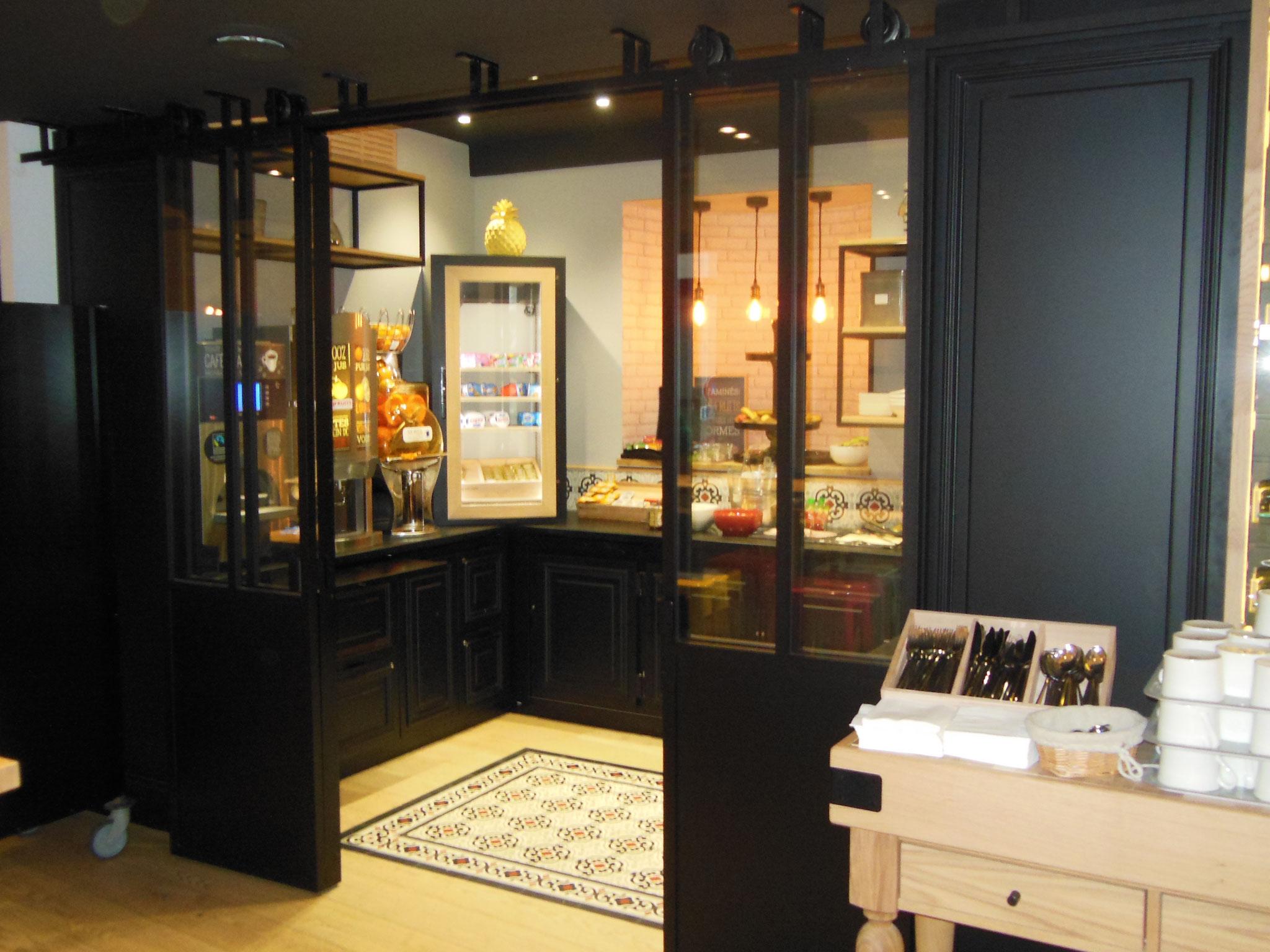 Portes style atelier Dinan