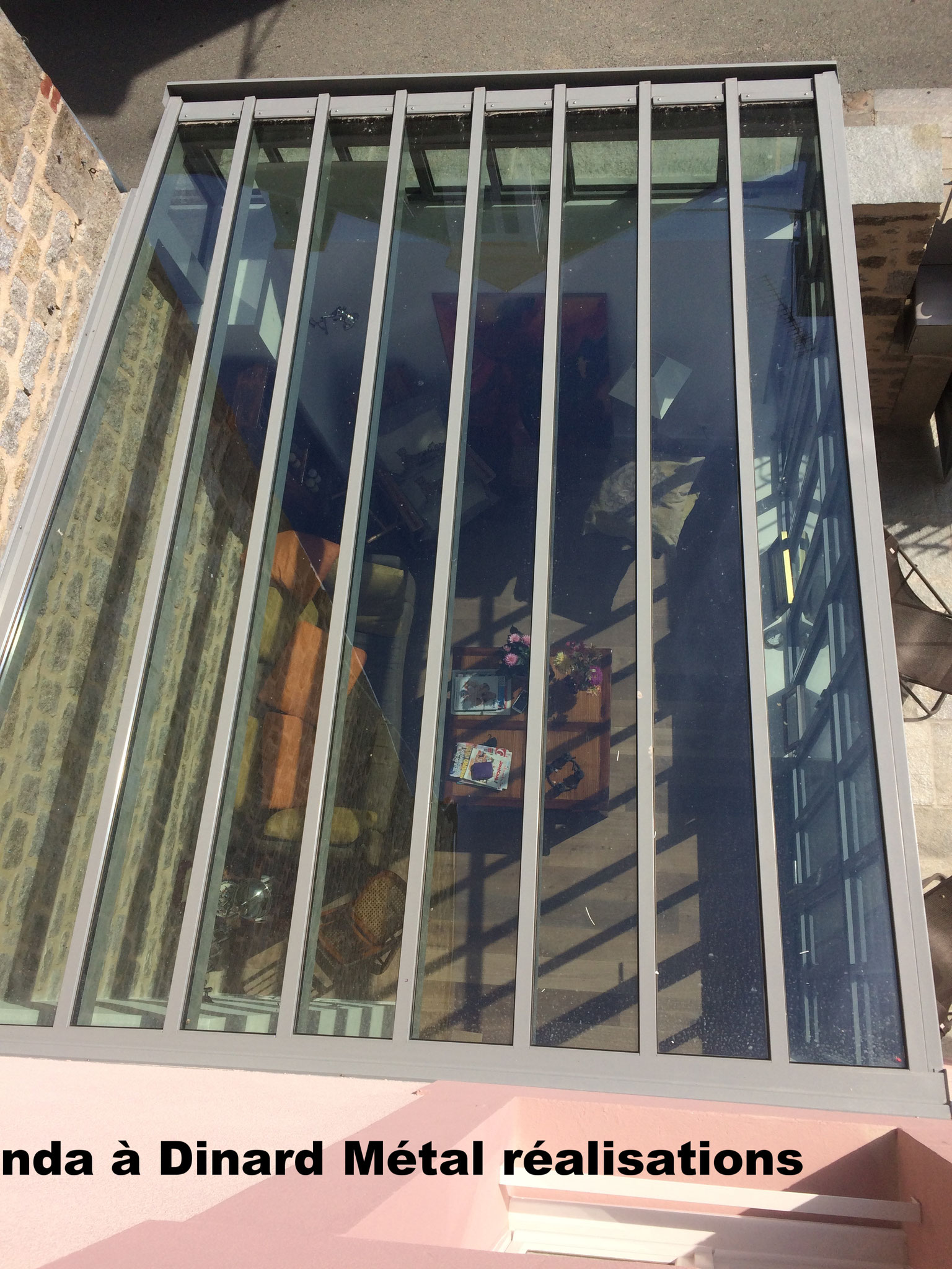Toiture veranda a Dinard