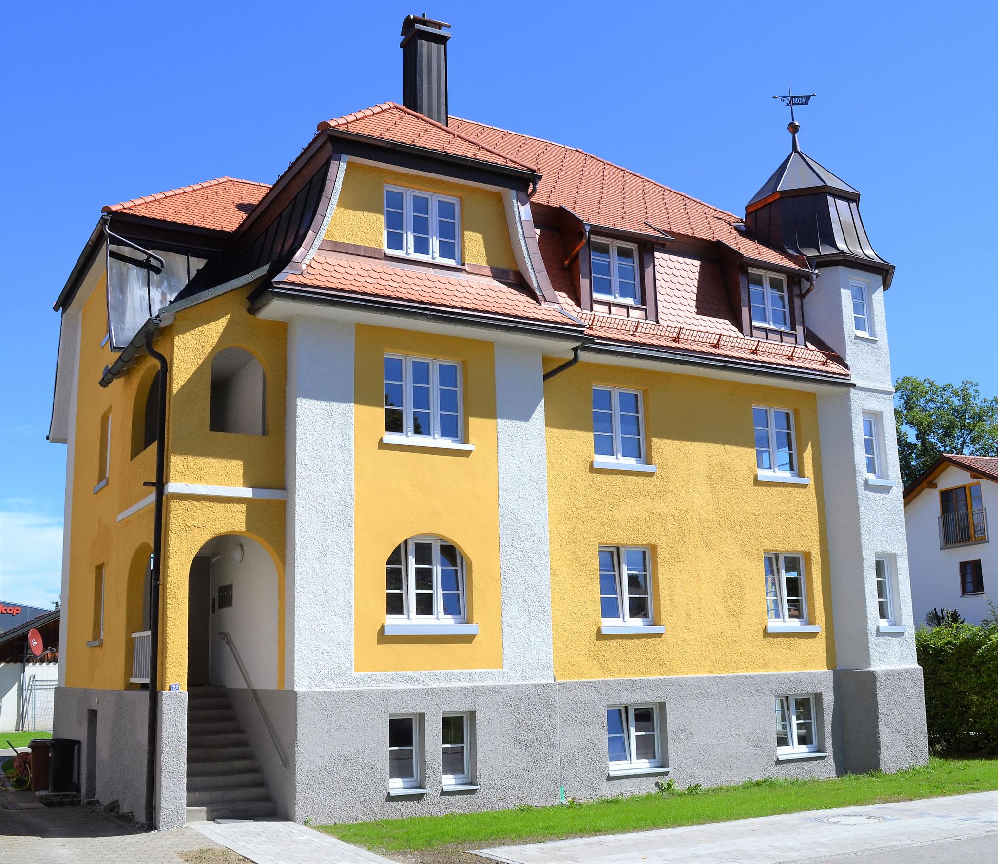 Fertigstellung, Sanierung Stadthaus in Lindenberg