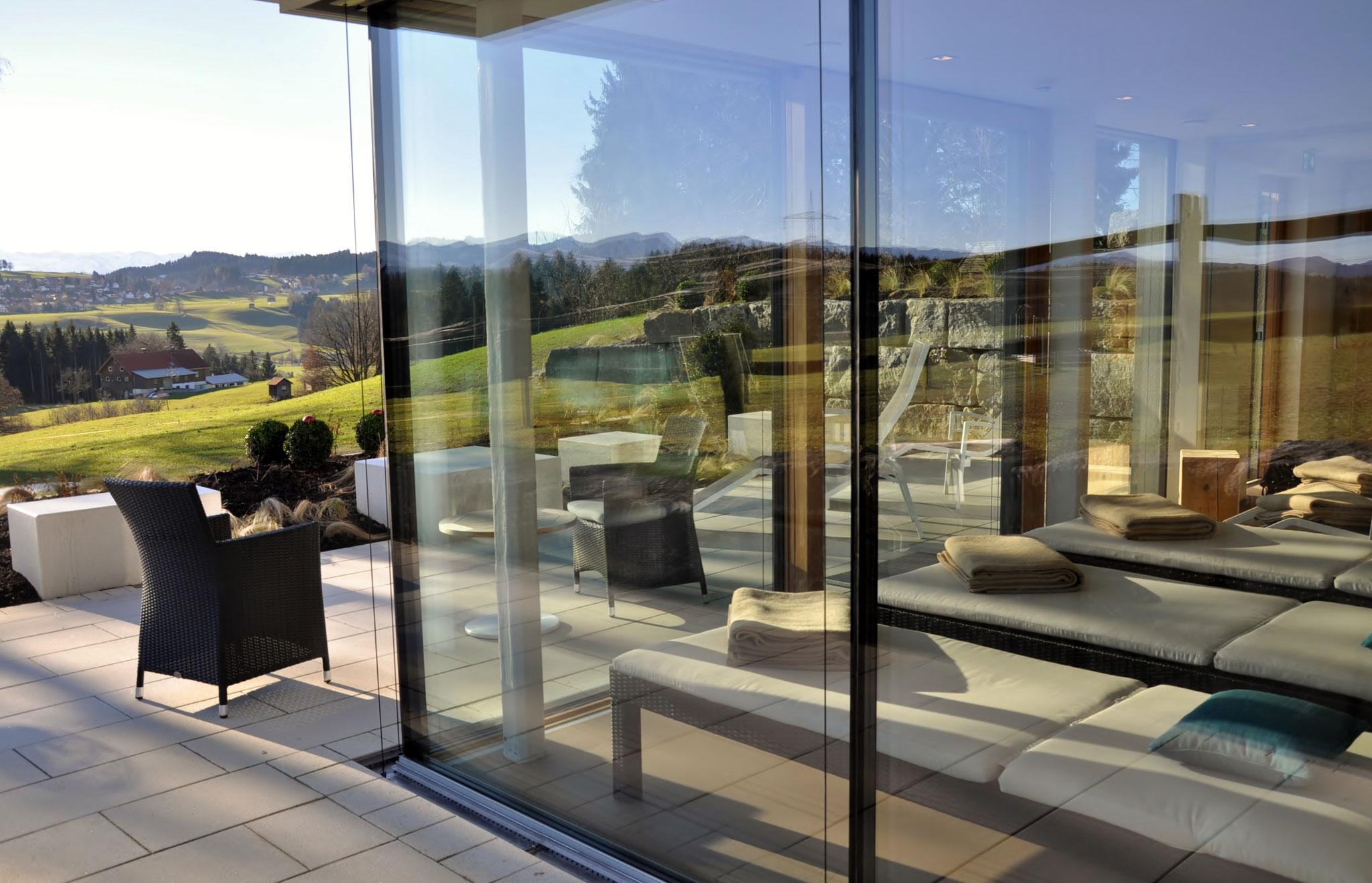 Fertigstellung, Veranstaltungssaal, Anbau an Beherbergungsbetrieb in Scheidegg