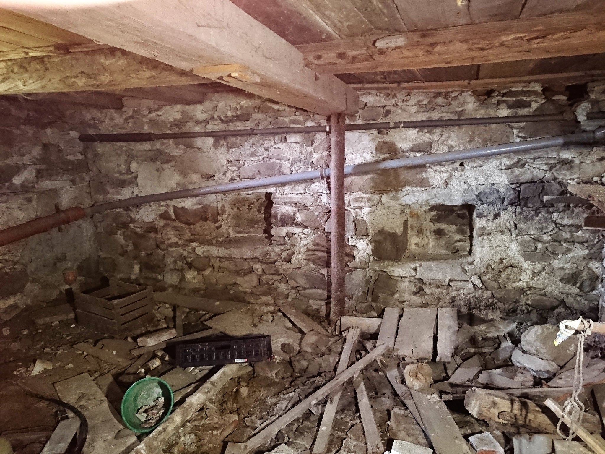 Bestand, Sanierung Bauernhof in Grünenbach