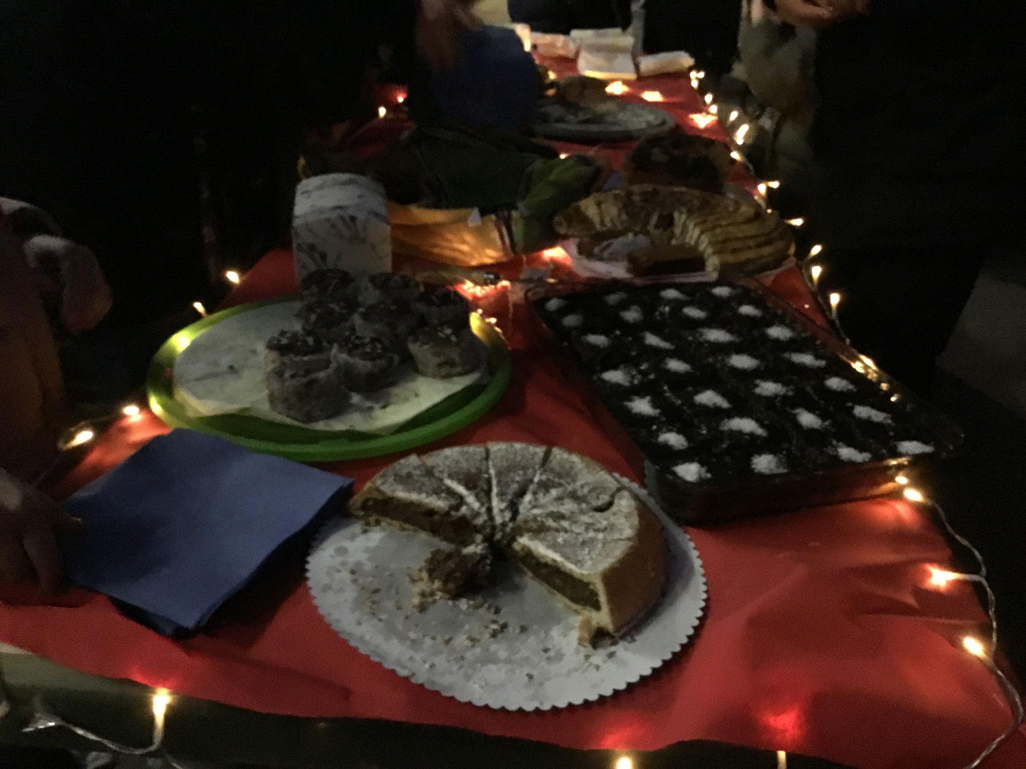 Kuchen und Leckerreien