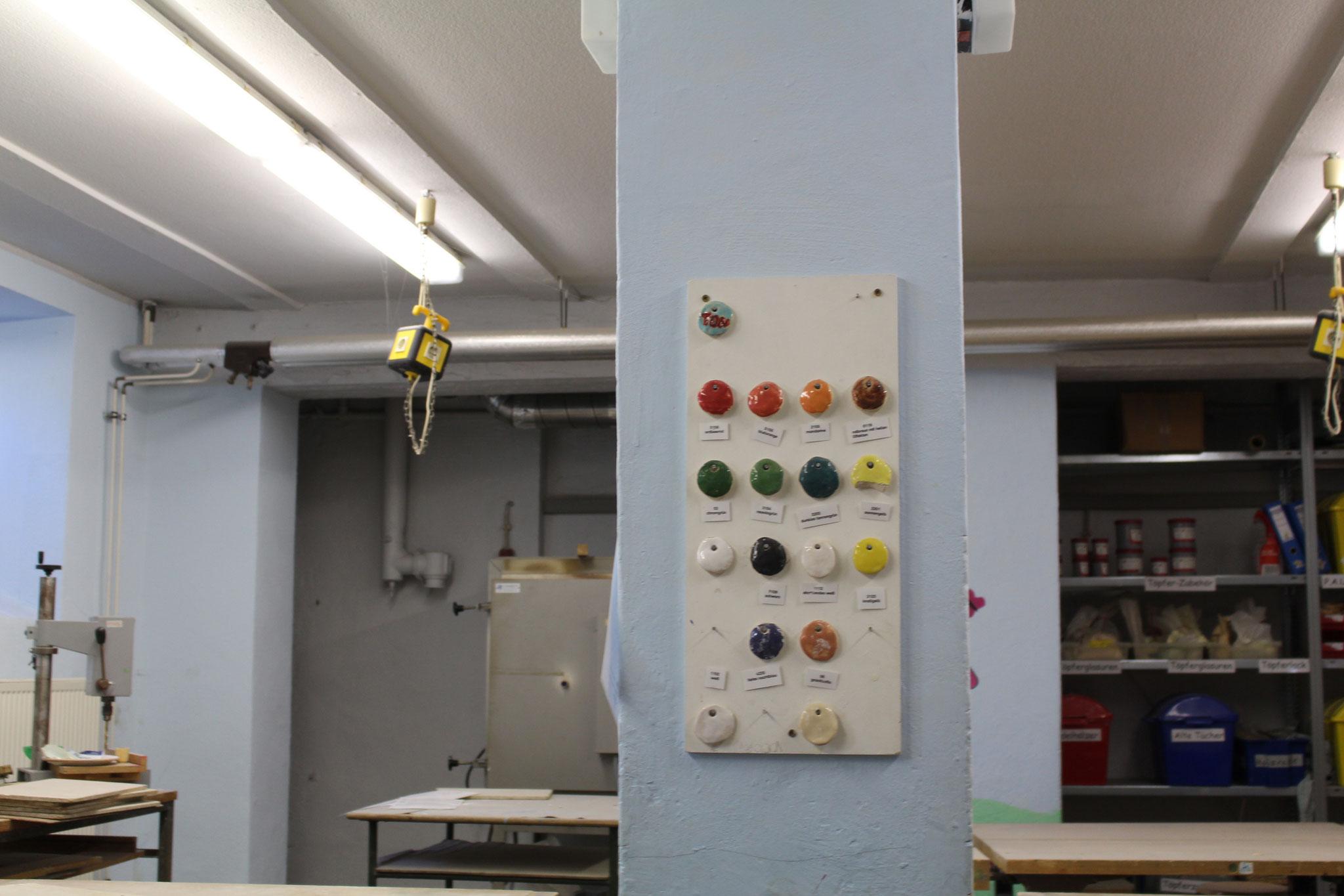 Im Werk Raum. Fotograf: LUKAS,LEANDROS
