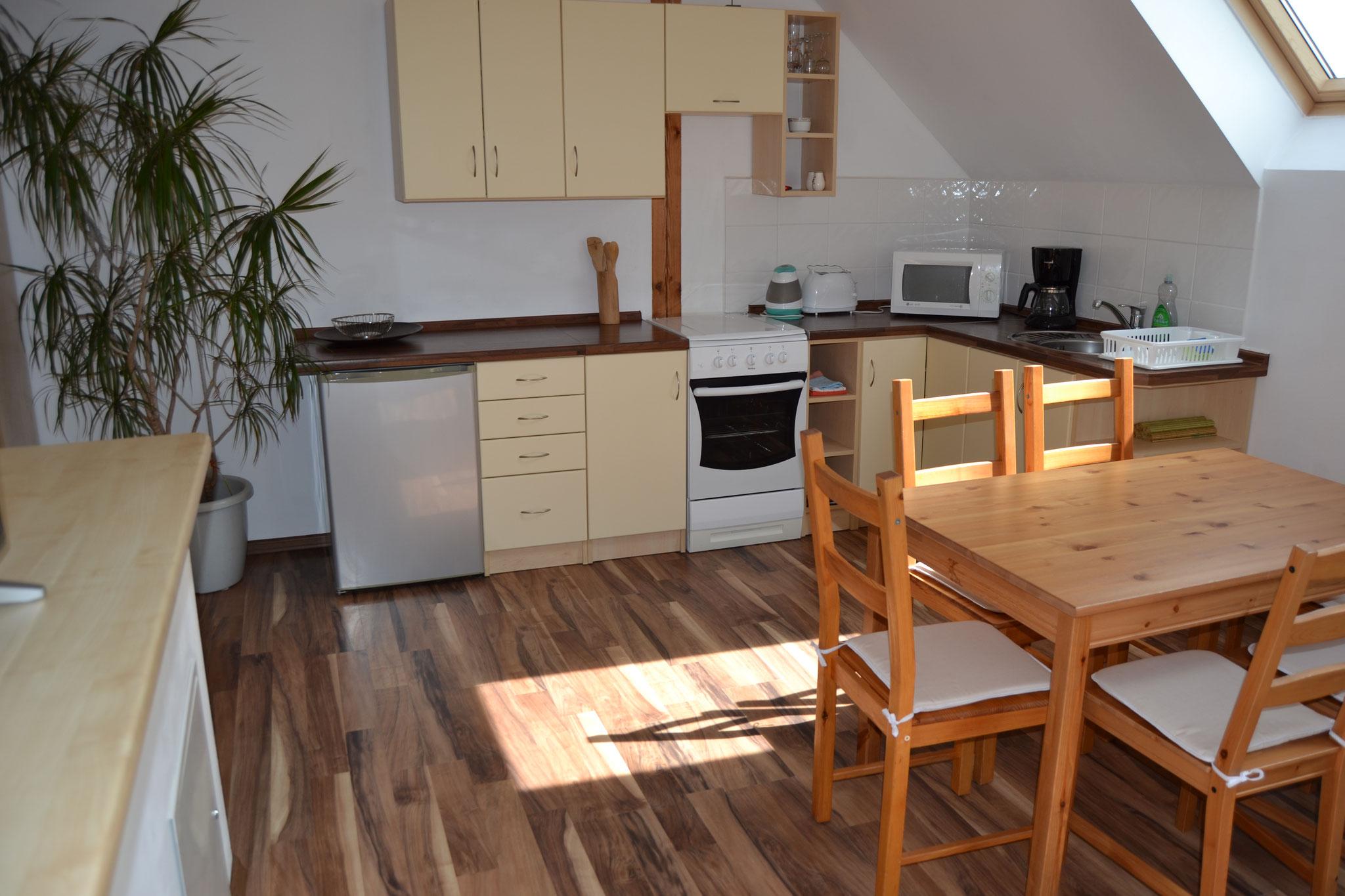 Küche in Apartment
