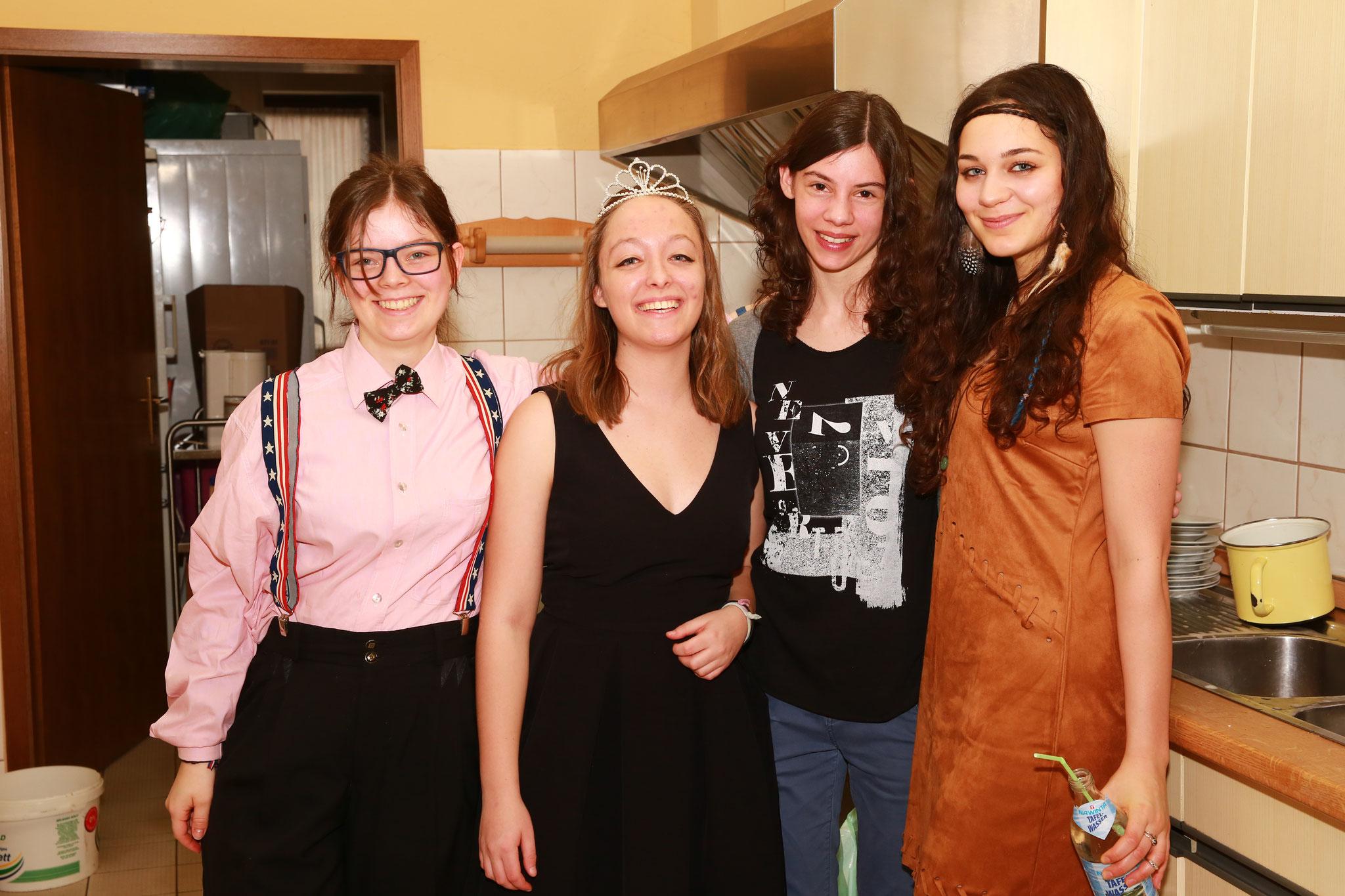 Die fleißige Küchen-Crew hatte alles im Griff ;)
