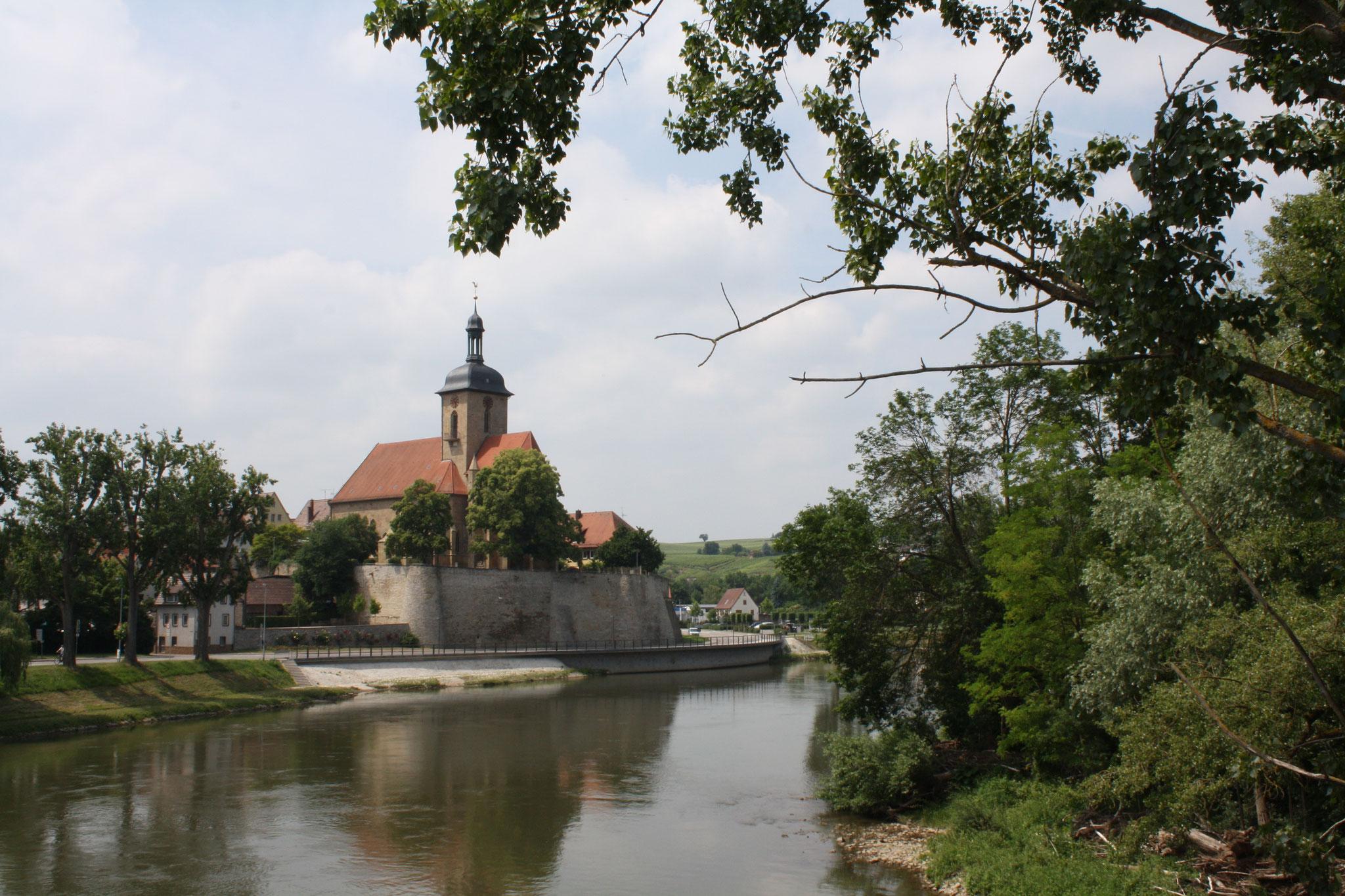 Die Regiswindiskirche in Lauffen a.N.