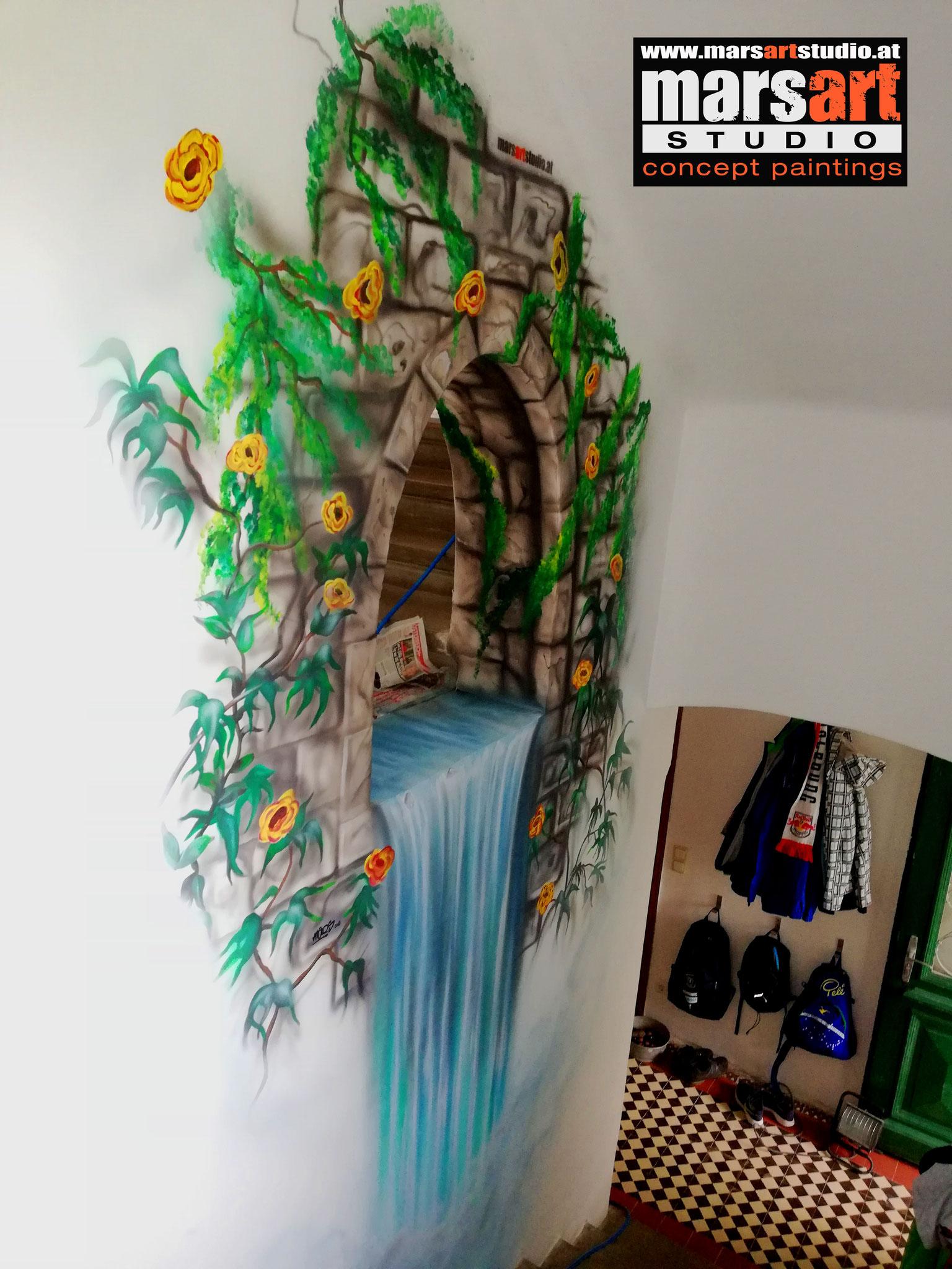 Wandmalerei / Privat