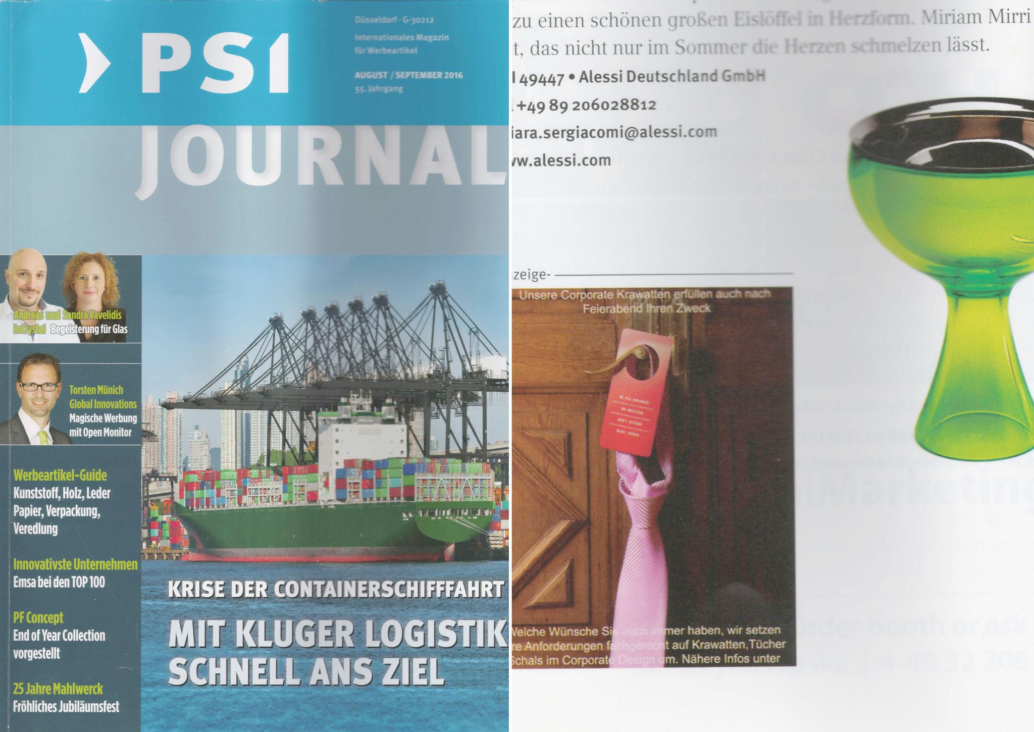 PSI Magazin 09/2016