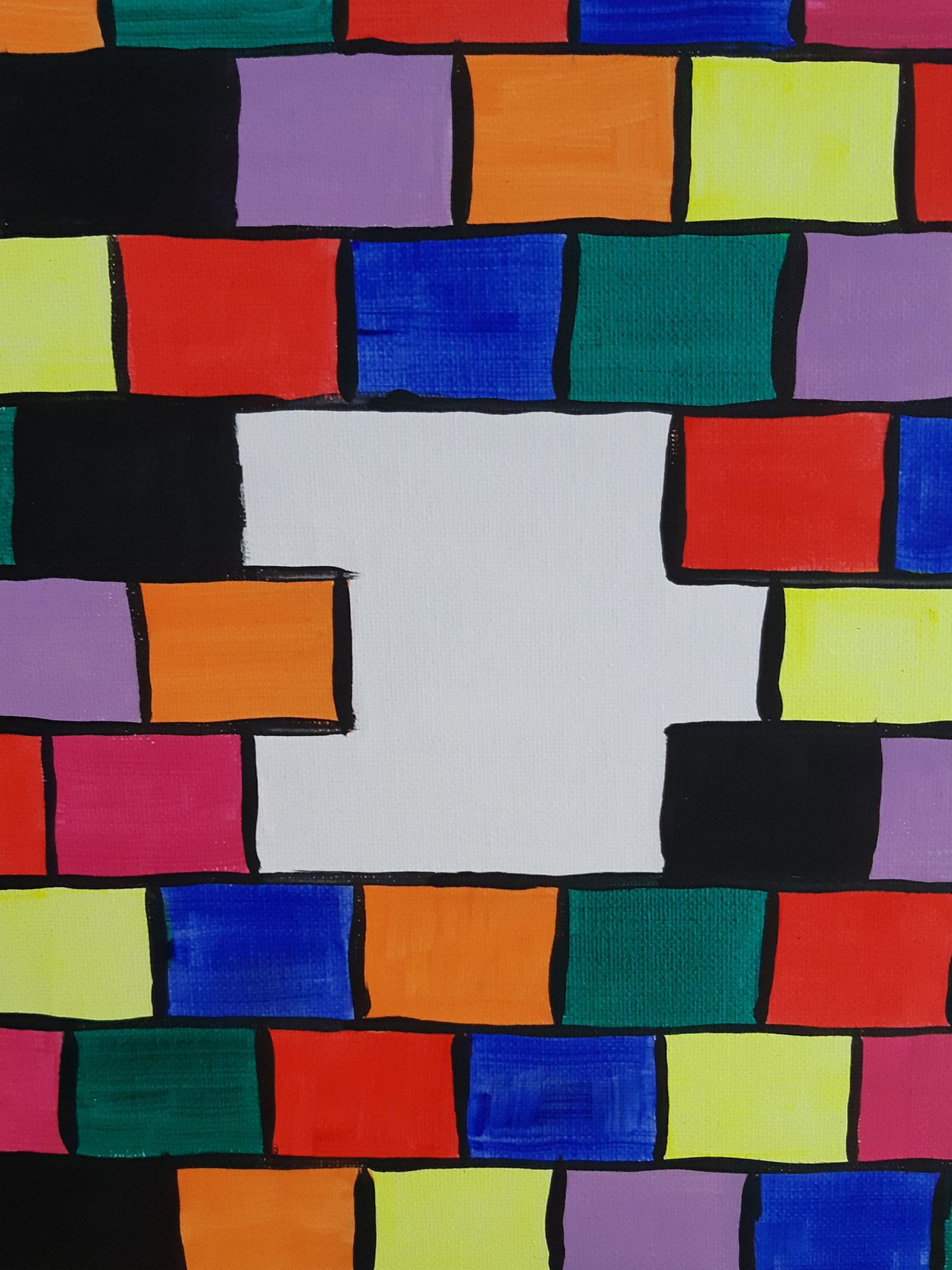 mur coloré 2