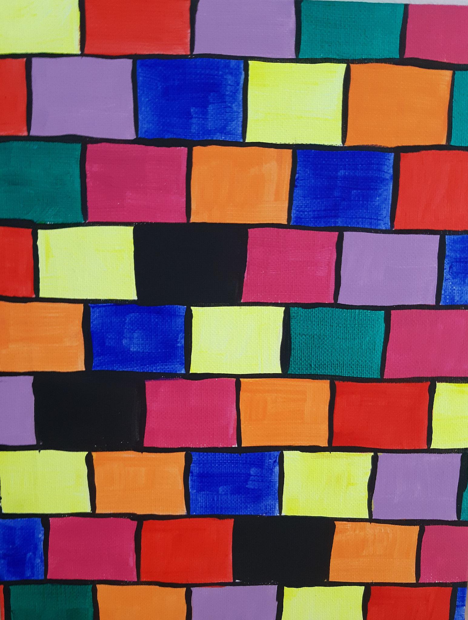 mur coloré 1