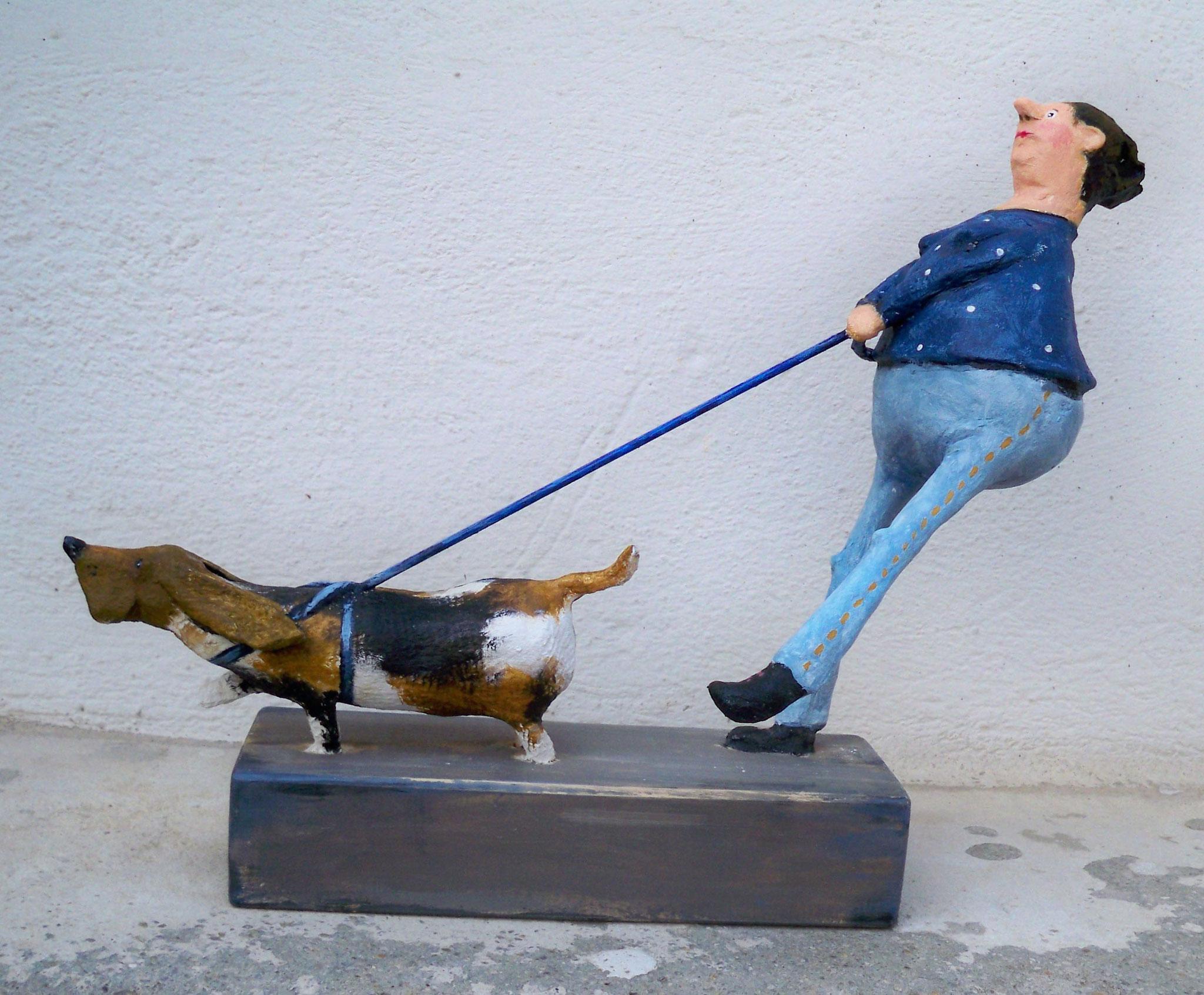 Frau B. mit Hund Cester Nr. 294