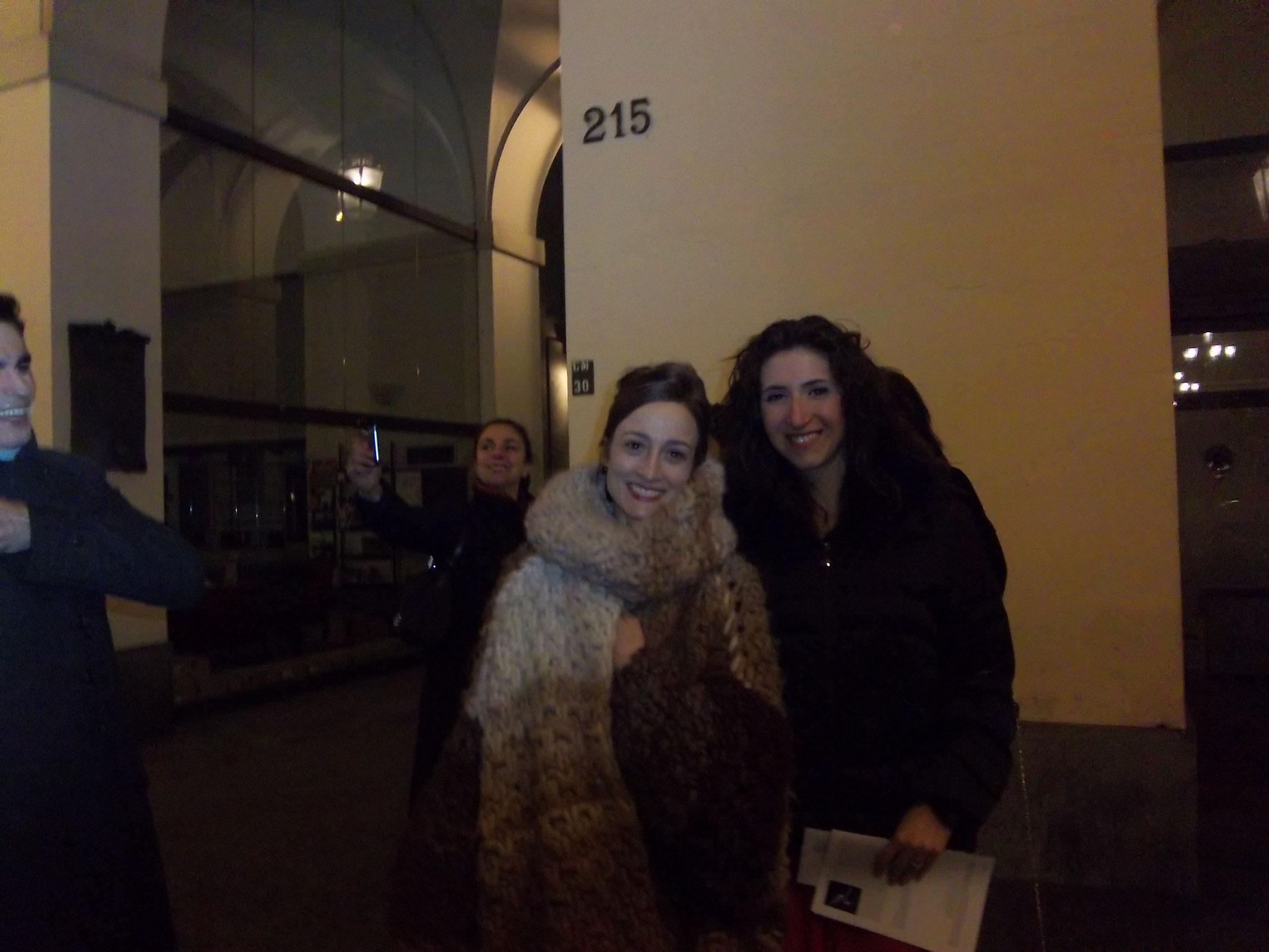 Federica con Julie Kent - American Ballet Theatre