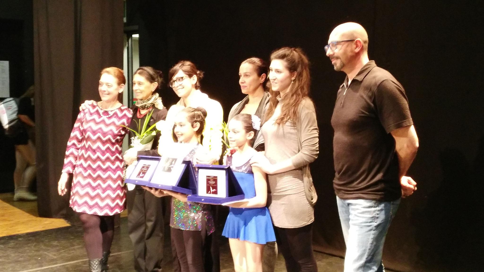 Concorso Giovani Talenti- Elisa 2° posto classico e Martina 1° posto moderno