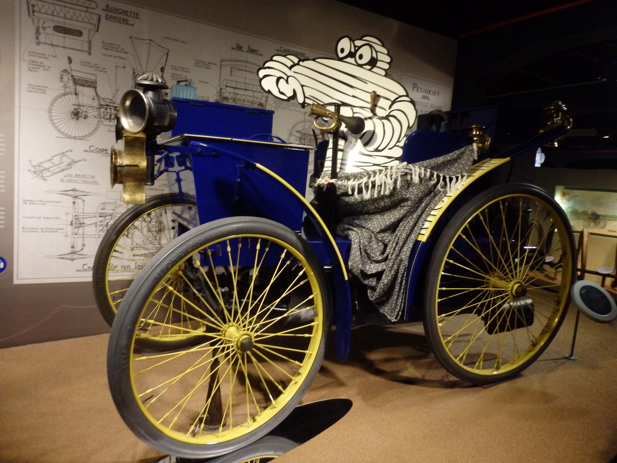 Musée Michelin à Clermont Ferrand