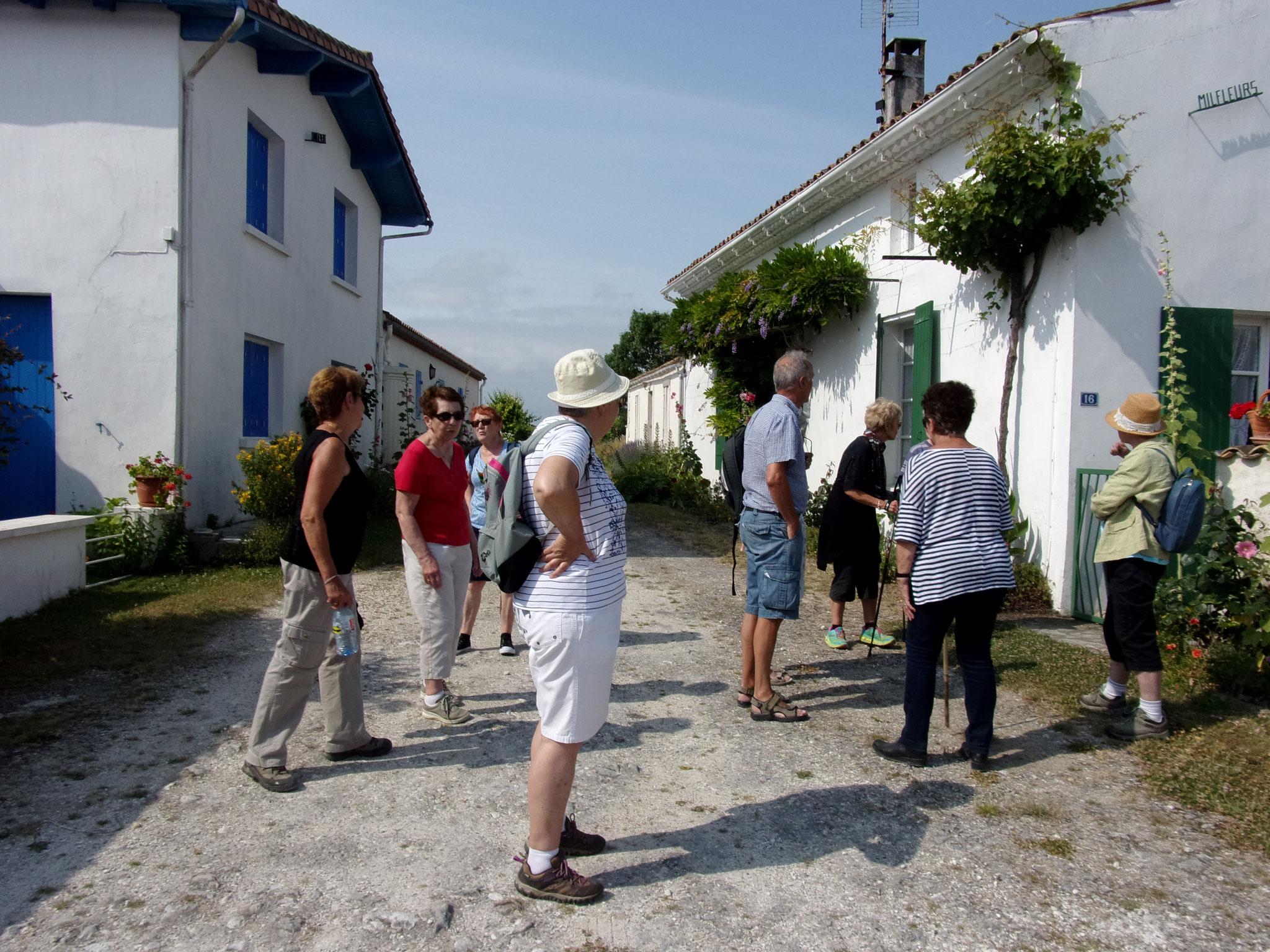 Talmont les maisons traditionnelles