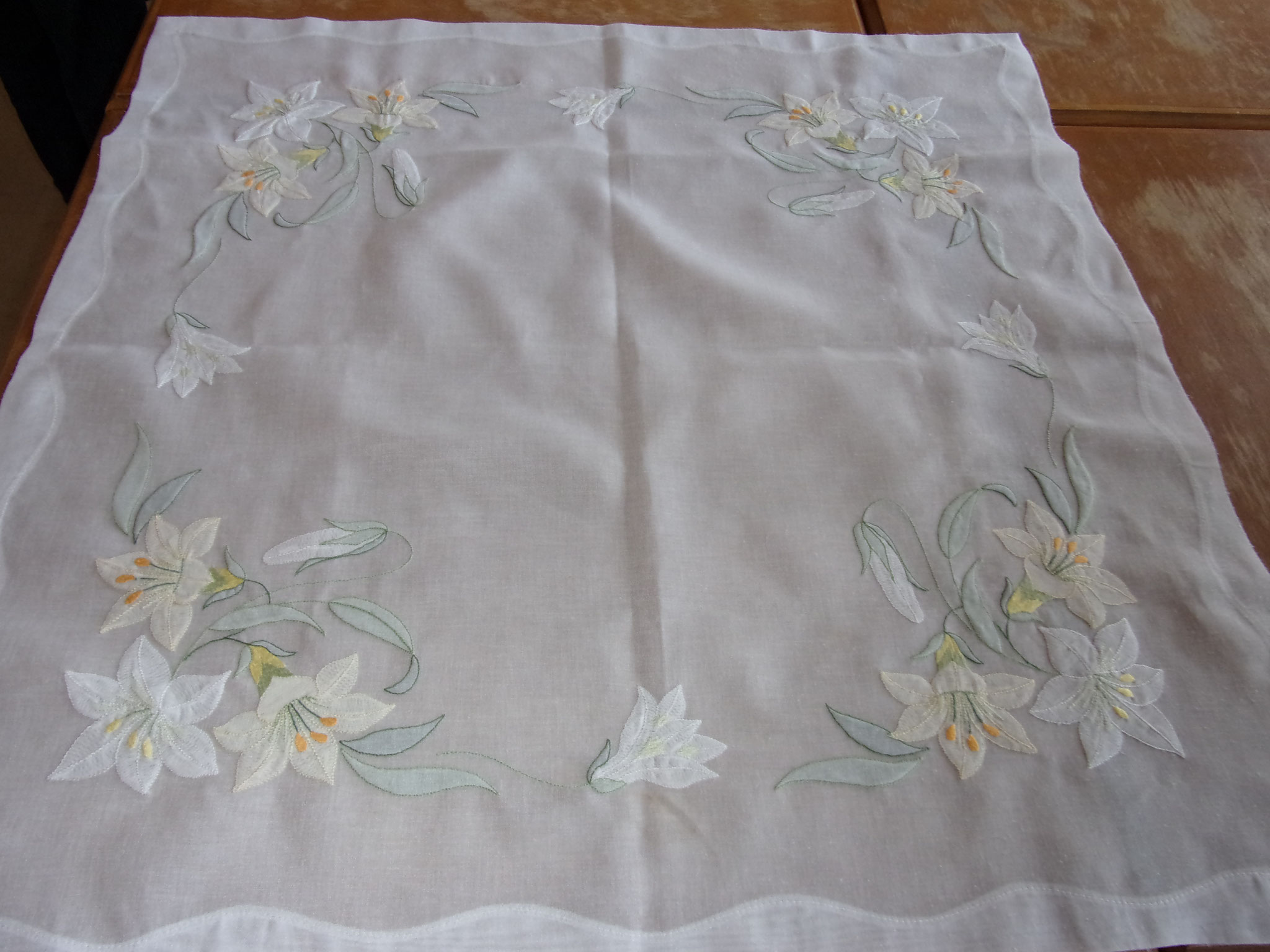 Broderie point d'ombre
