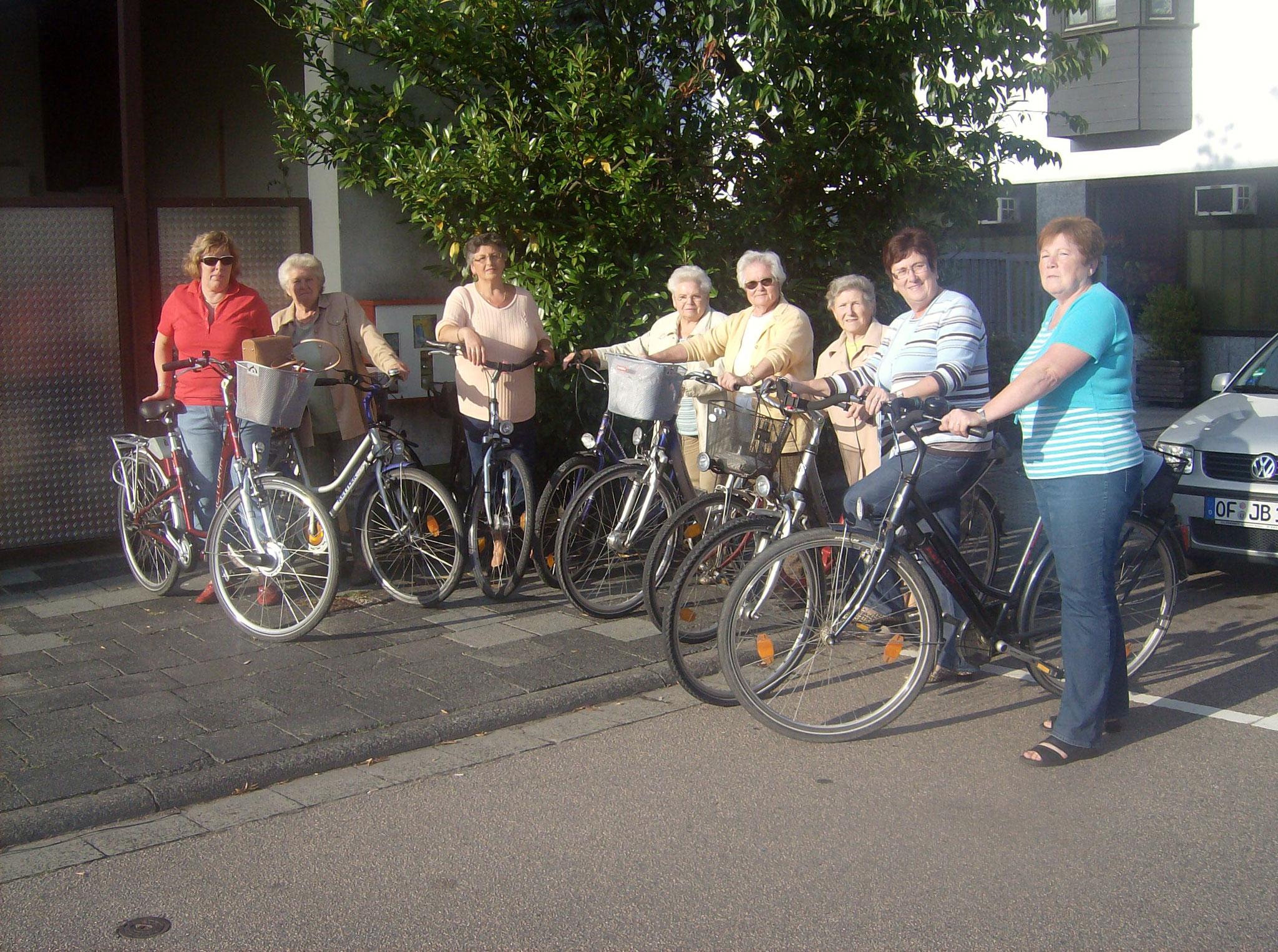 Radtour in den Sommerferien 2010 Bild: I.Nenner