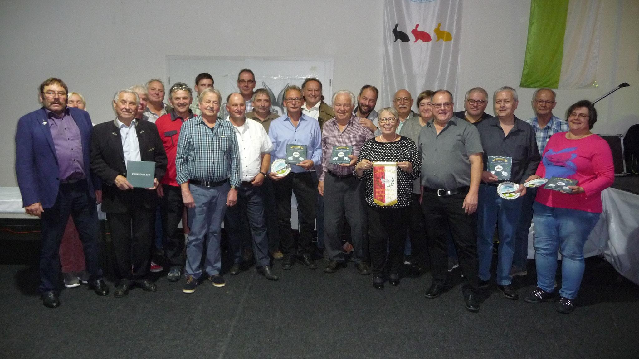 Überregionale Scheckenclub-Vergleichsschau in Rheinberg