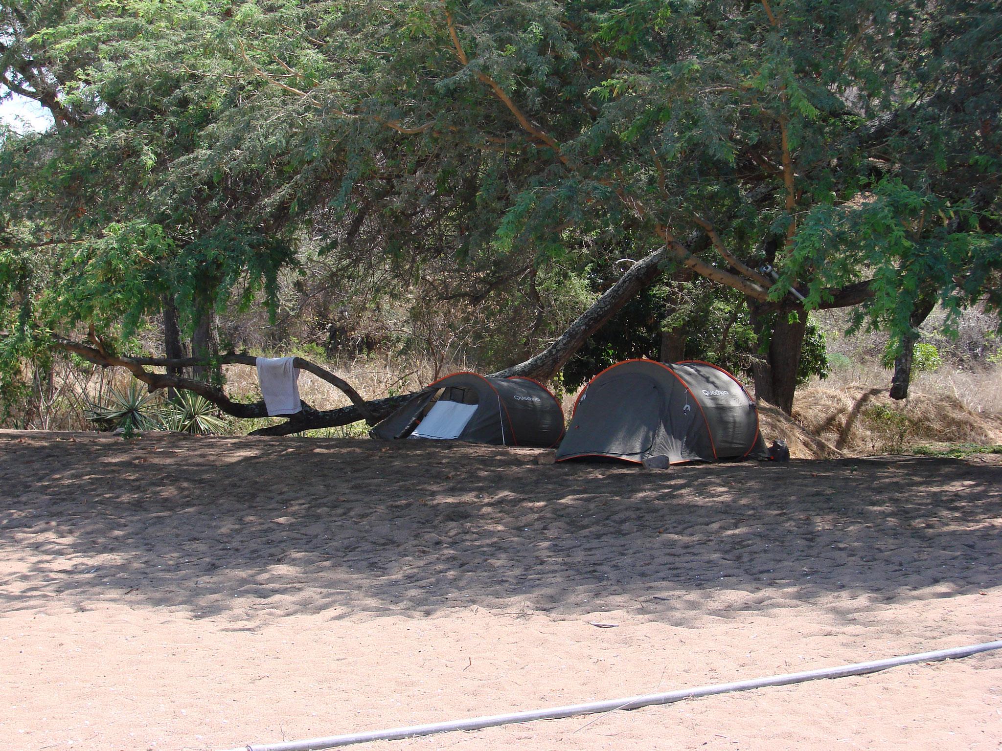 Unterkunft Ndole Bay