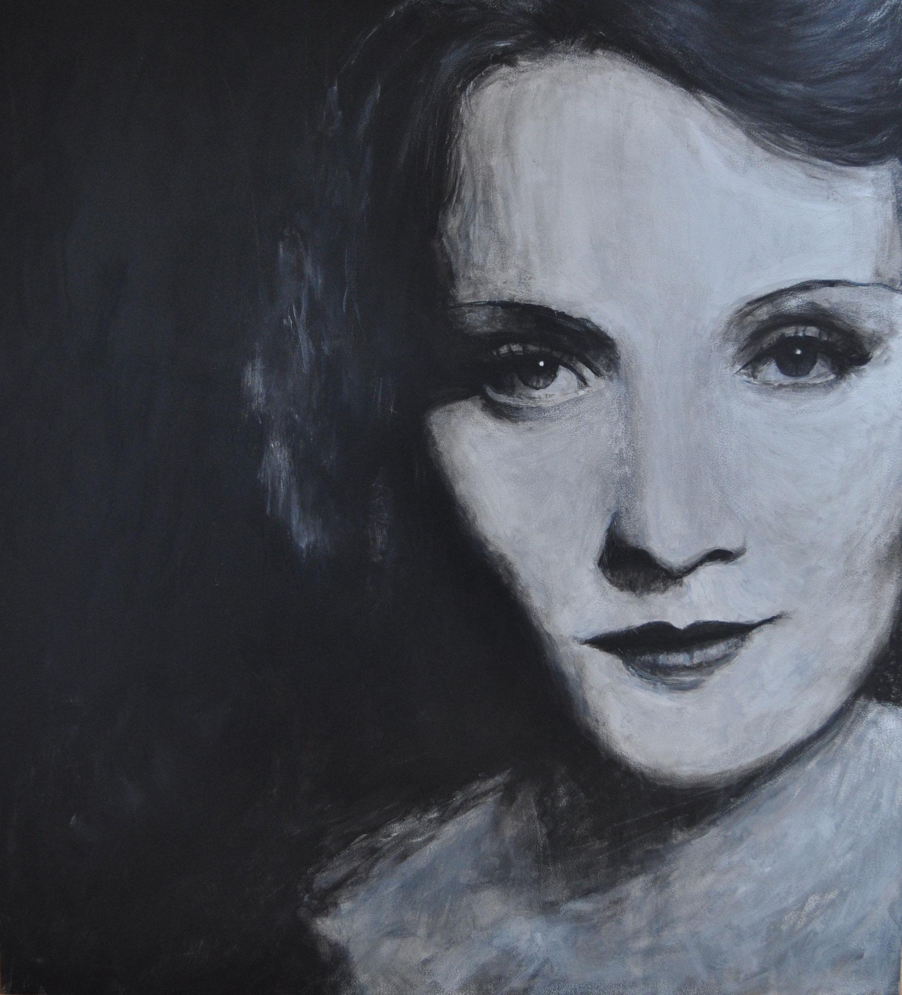 Marlene Dietrich (Acryl)