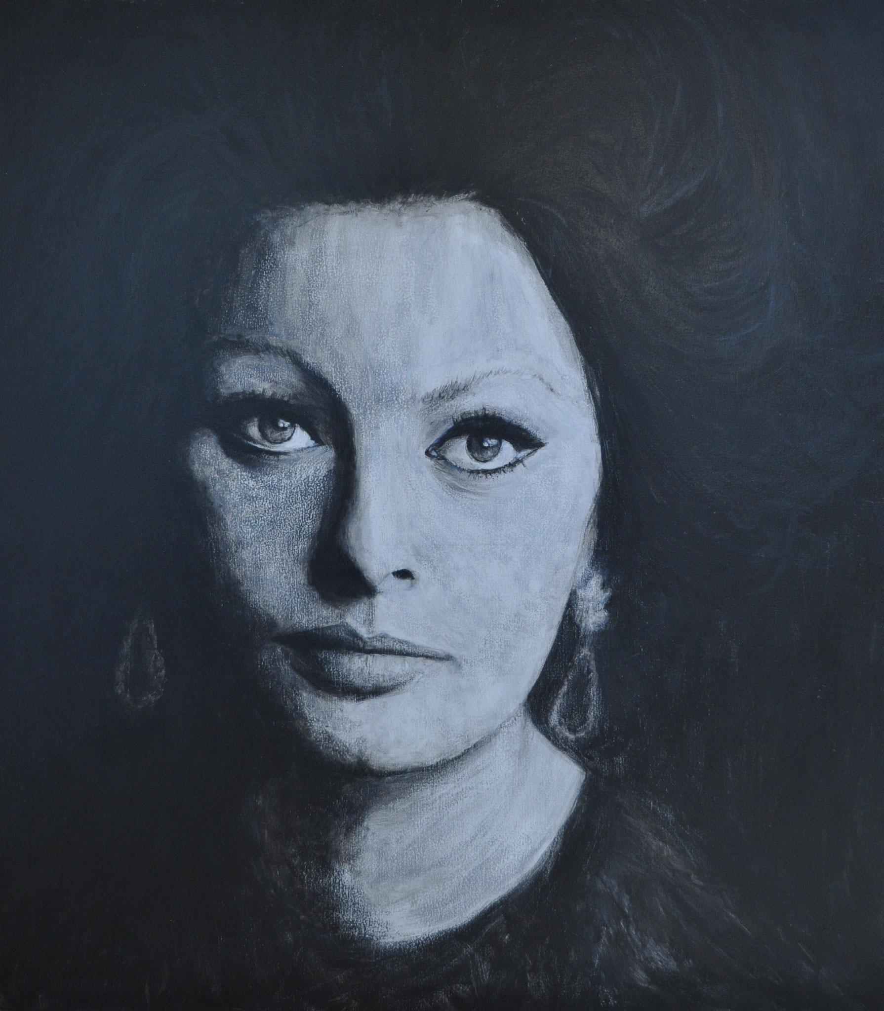 Sophia Loren (Acrílico)