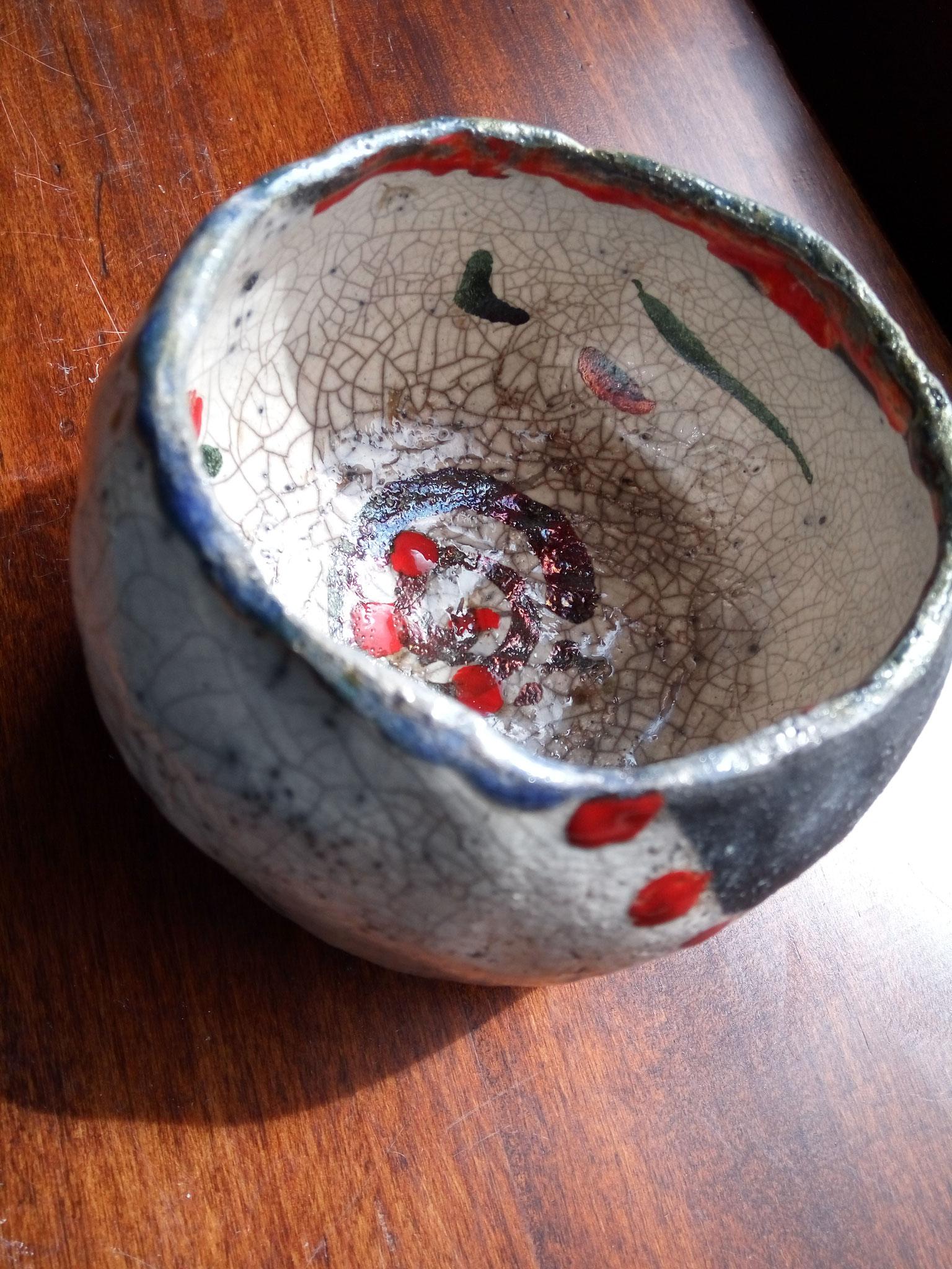Raku bowl.