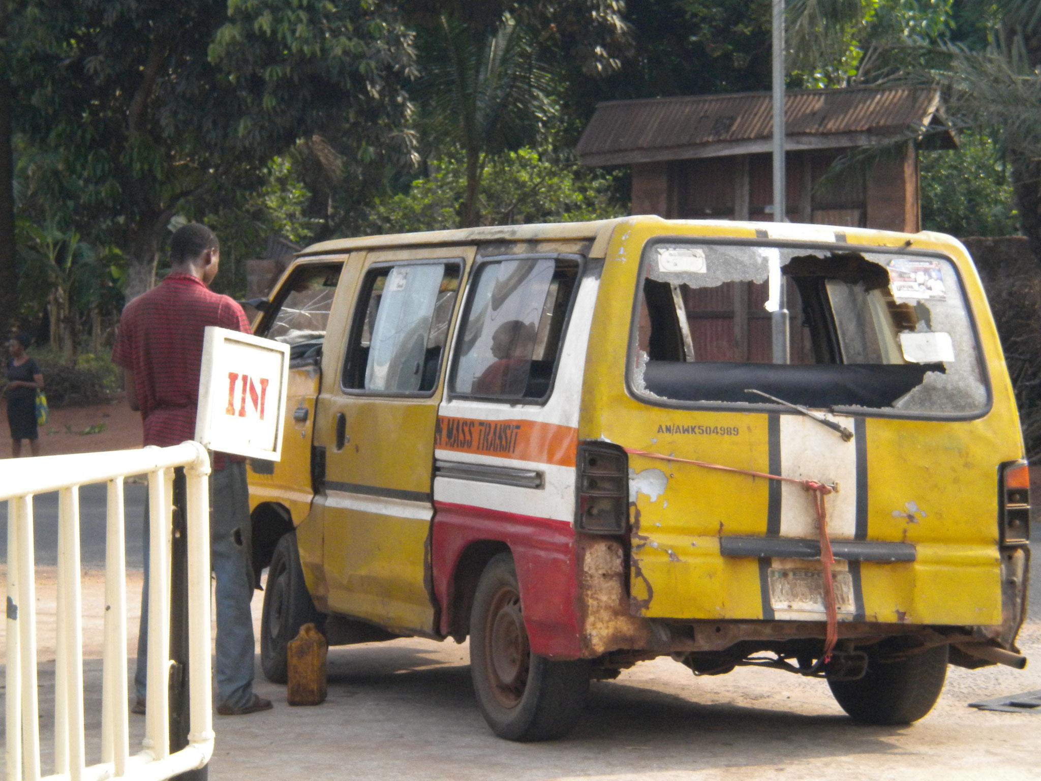 öffentliches Verkehrmittel