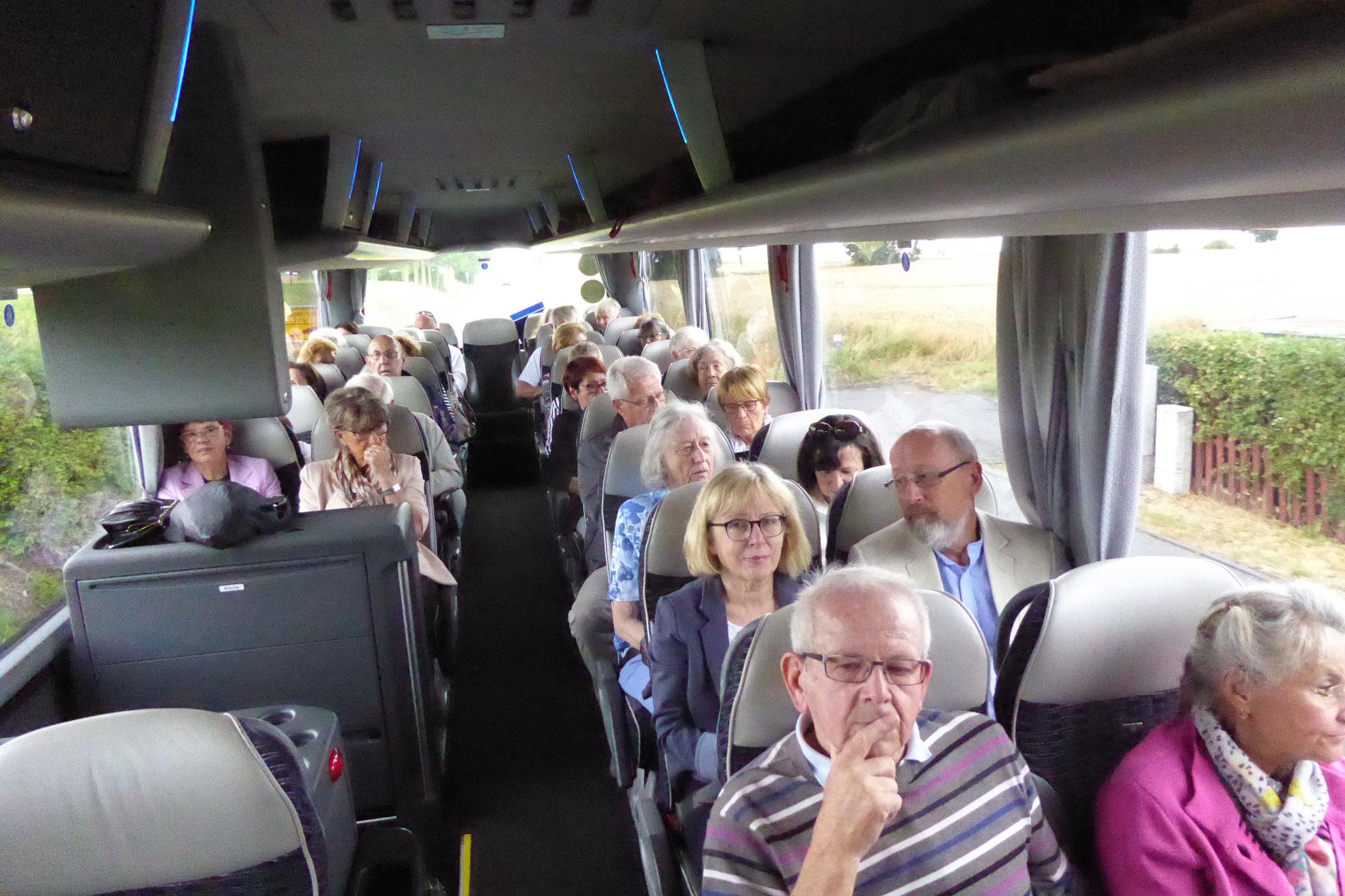 Im Bus nach Bad Hersfeld