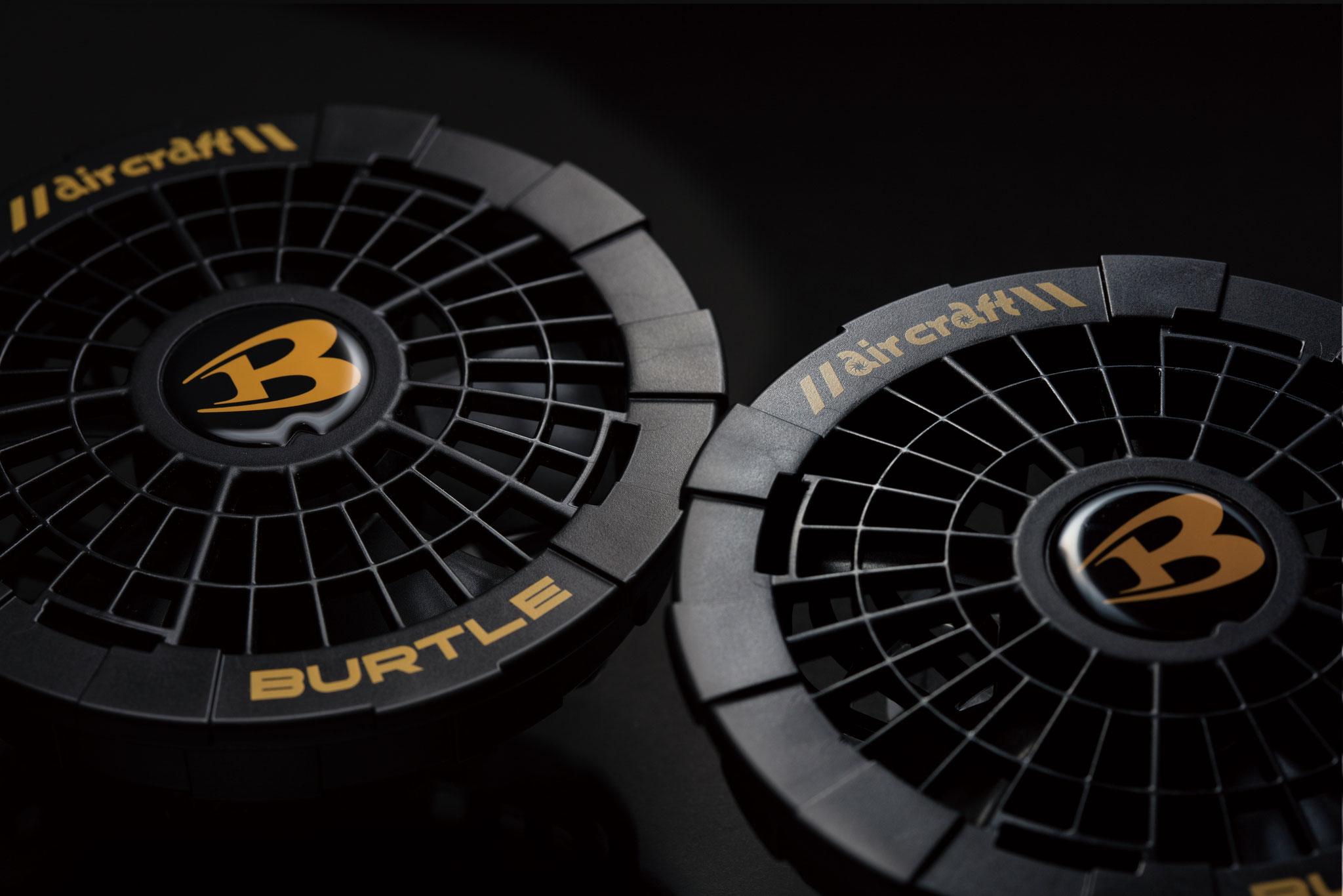 AC150 ファンユニット ¥4,950(税込)高出力で、毎秒53リットの外気を取り込みます。