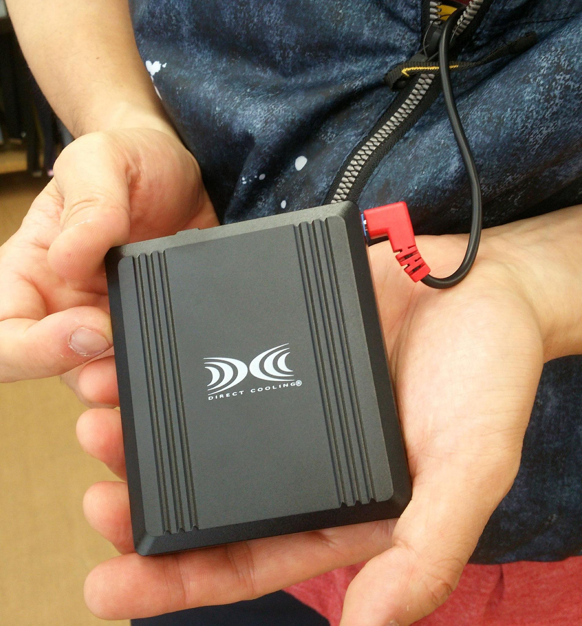 (株)空調服 最大電圧14.4V 大容量バッテリー