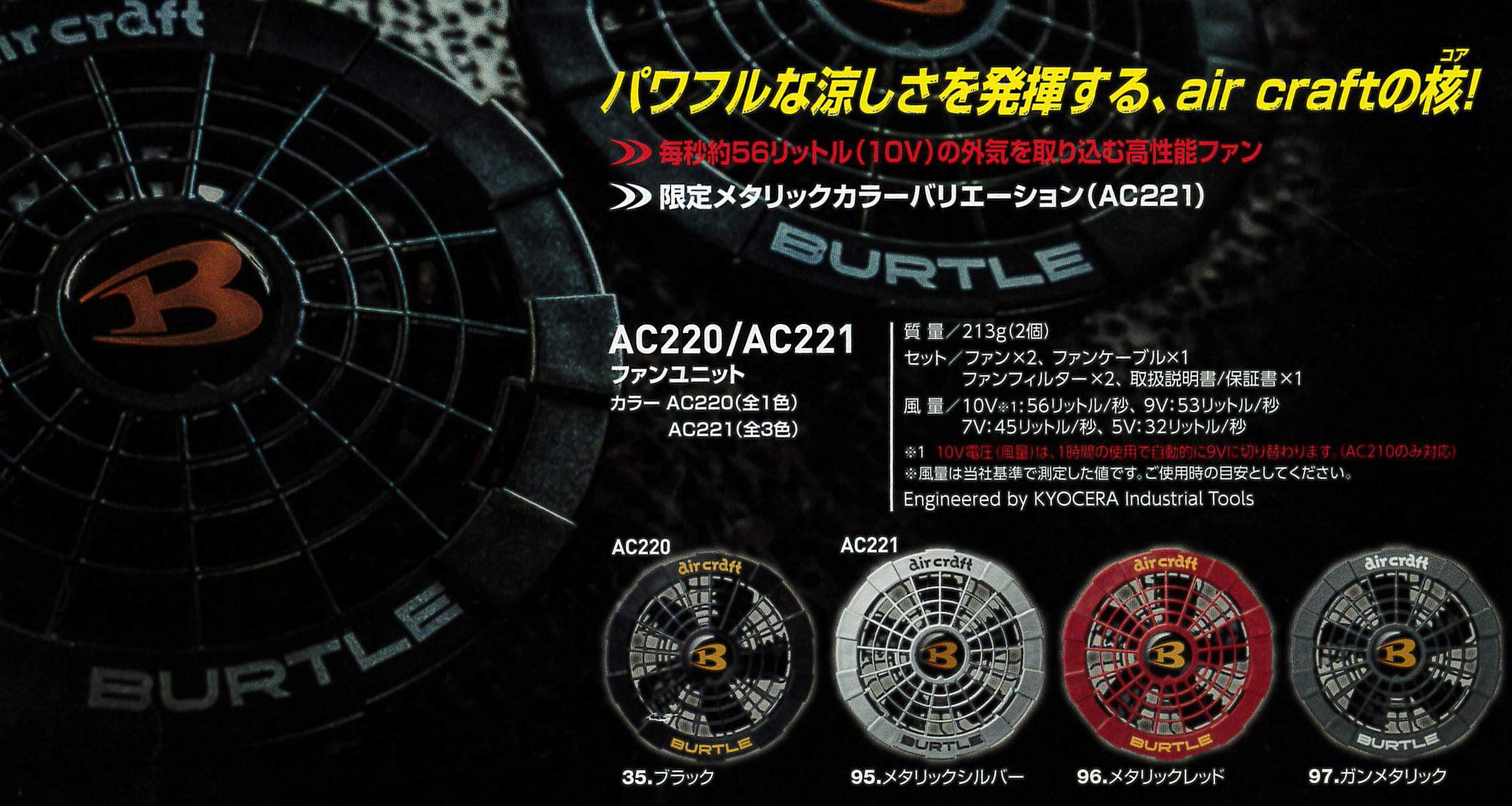 AC220 ファンユニット ¥4,950(税込)