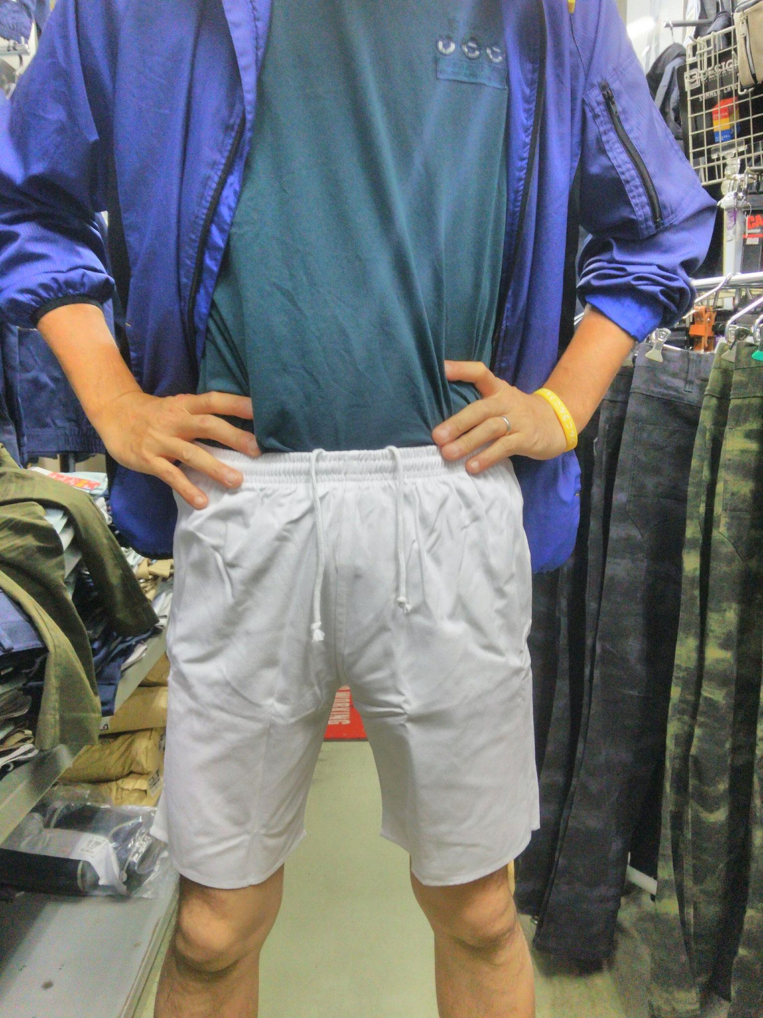 祭り用白半ズボン(短パン)1,990円(税込)脇ゴムで楽々💛
