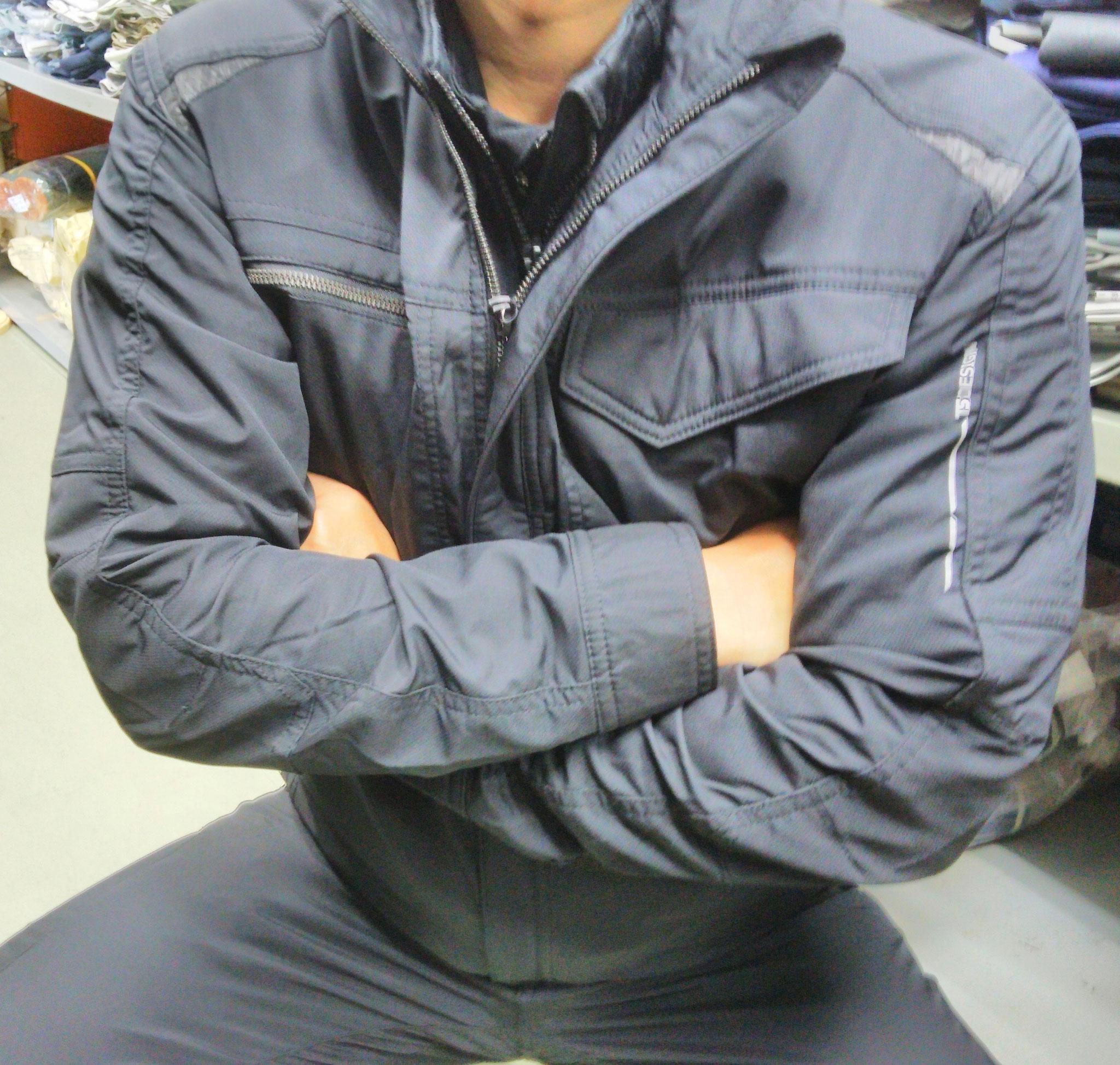 TS DESIGN 84636 ジャケット しっかり伸びるストレッチで楽々です。