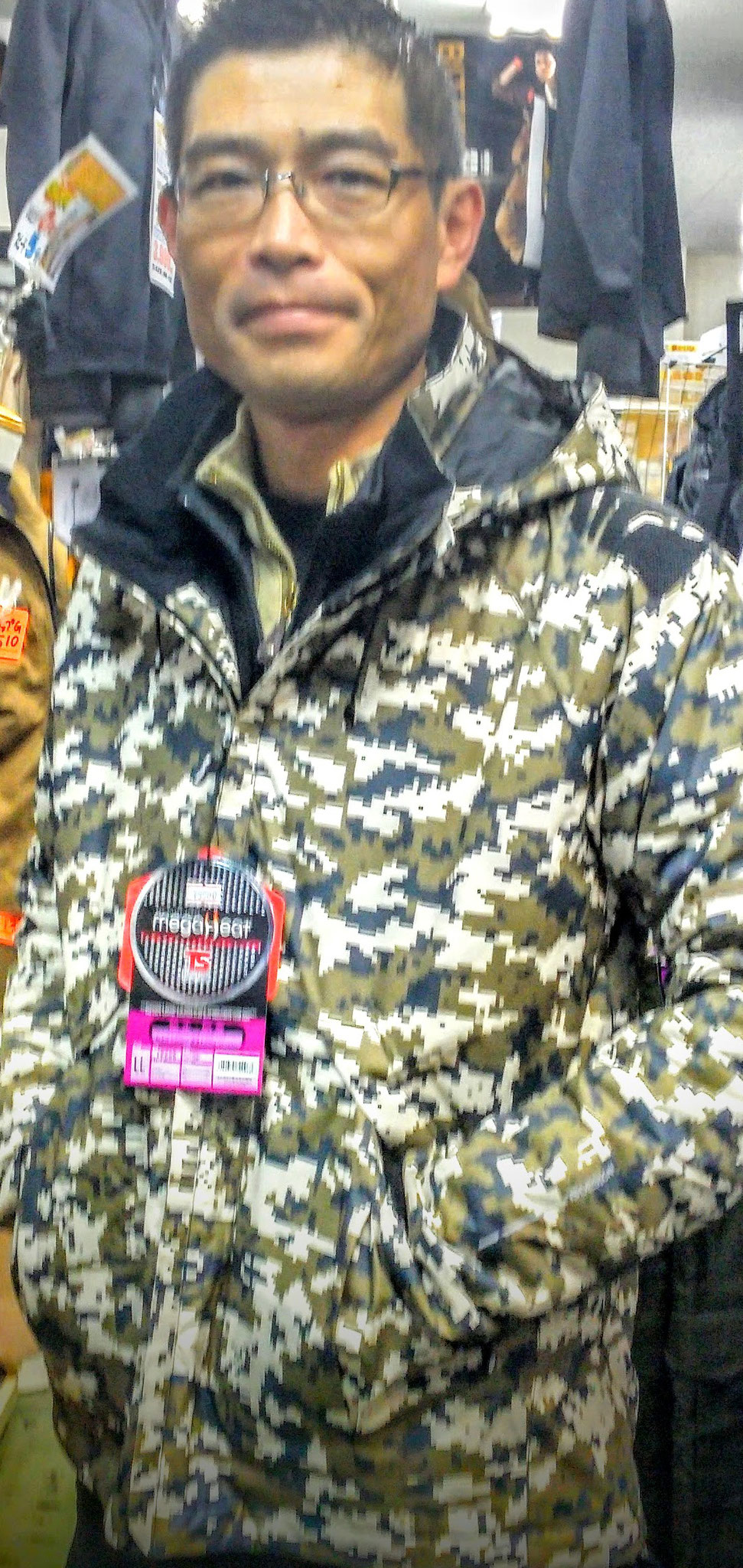 TS DESIGN(TSデザイン)18226 メガヒート防水防寒ジャケット 限定色のカモフラ