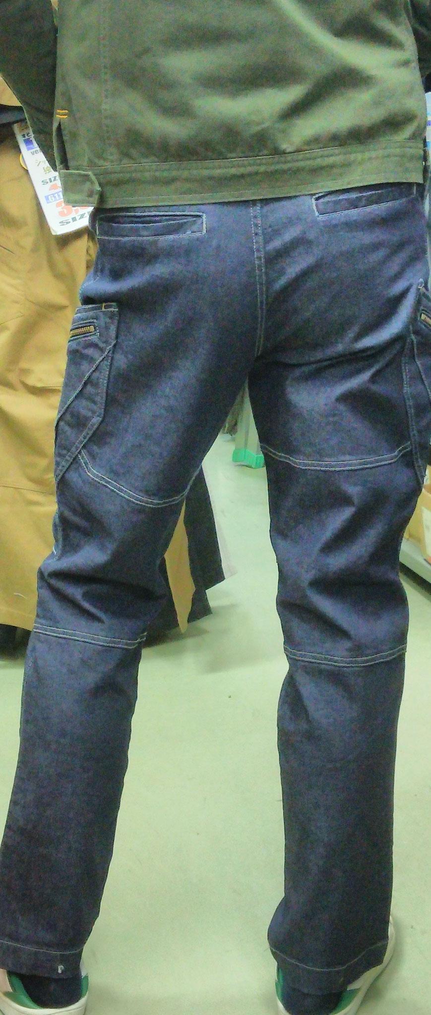 TS DESIGN 511 SERIES =履いてみました=バックもスタイリッシュに決まります。