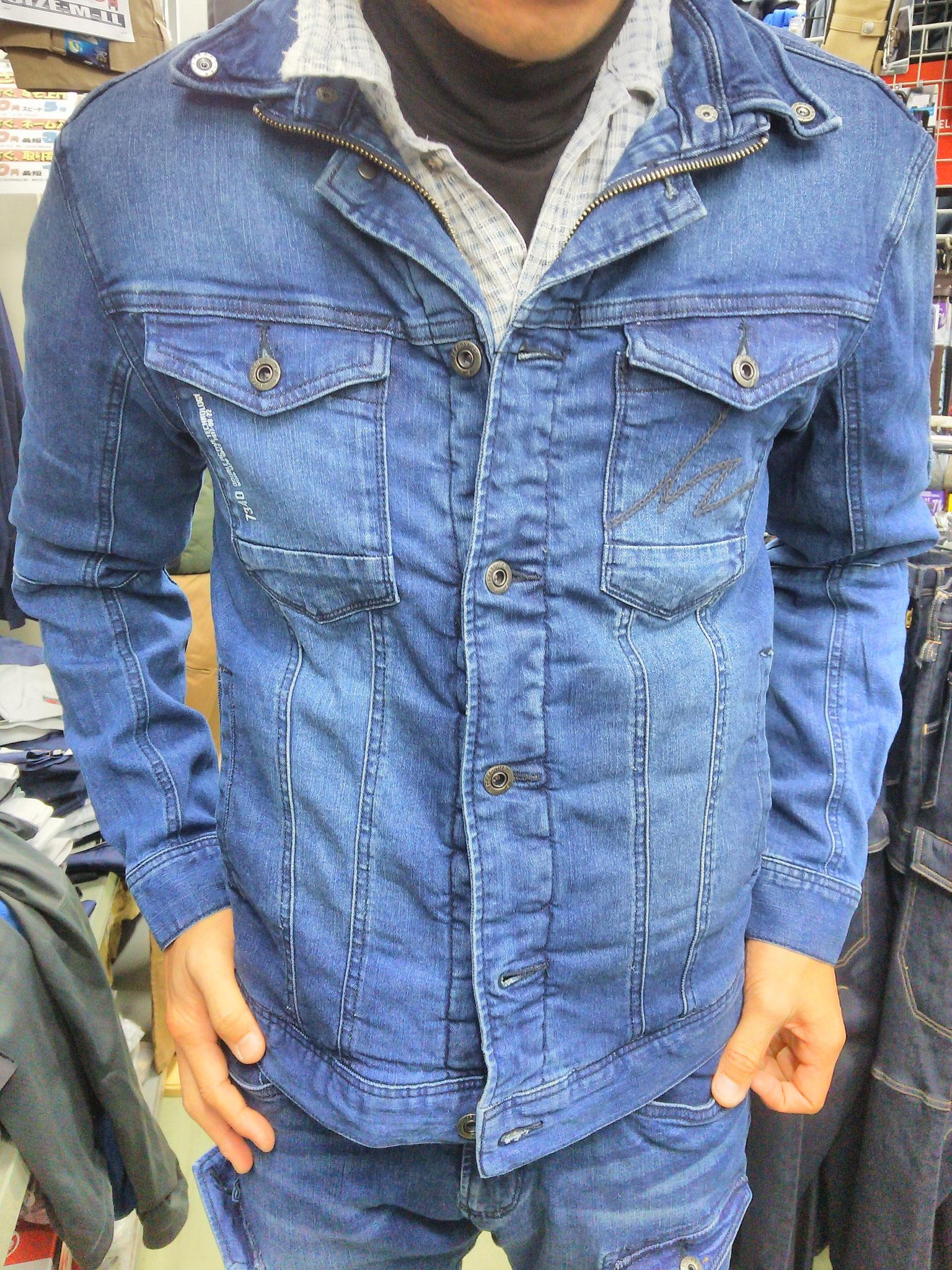 I'Z FRONTIER 7340 SERIES ~アイズフロンティア~ 着てみました。身長180cmの私でも、Lサイズでぴったりフィットします。
